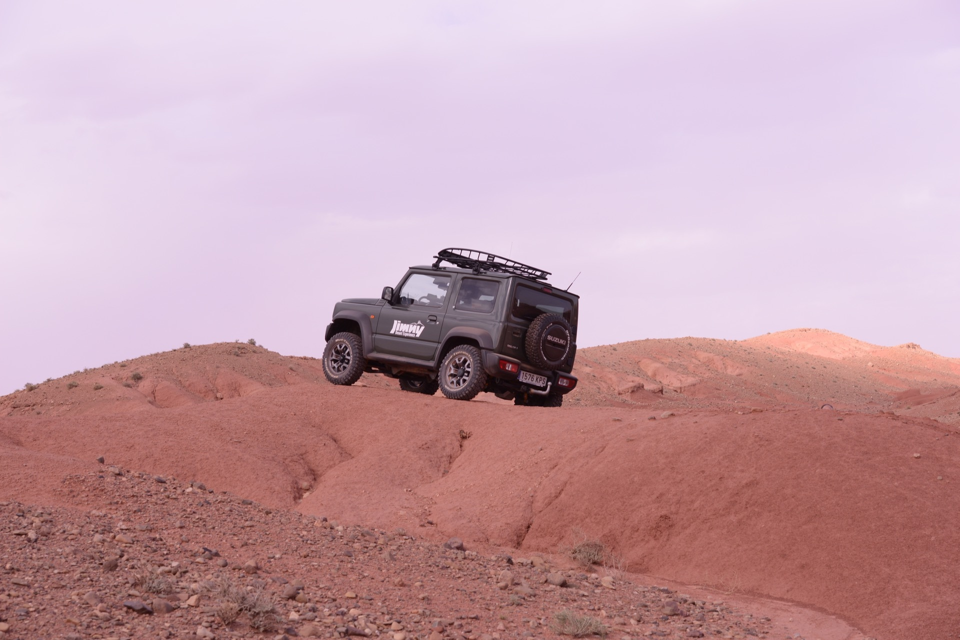 Suzuki Jimny Desert Experience 2019 00044