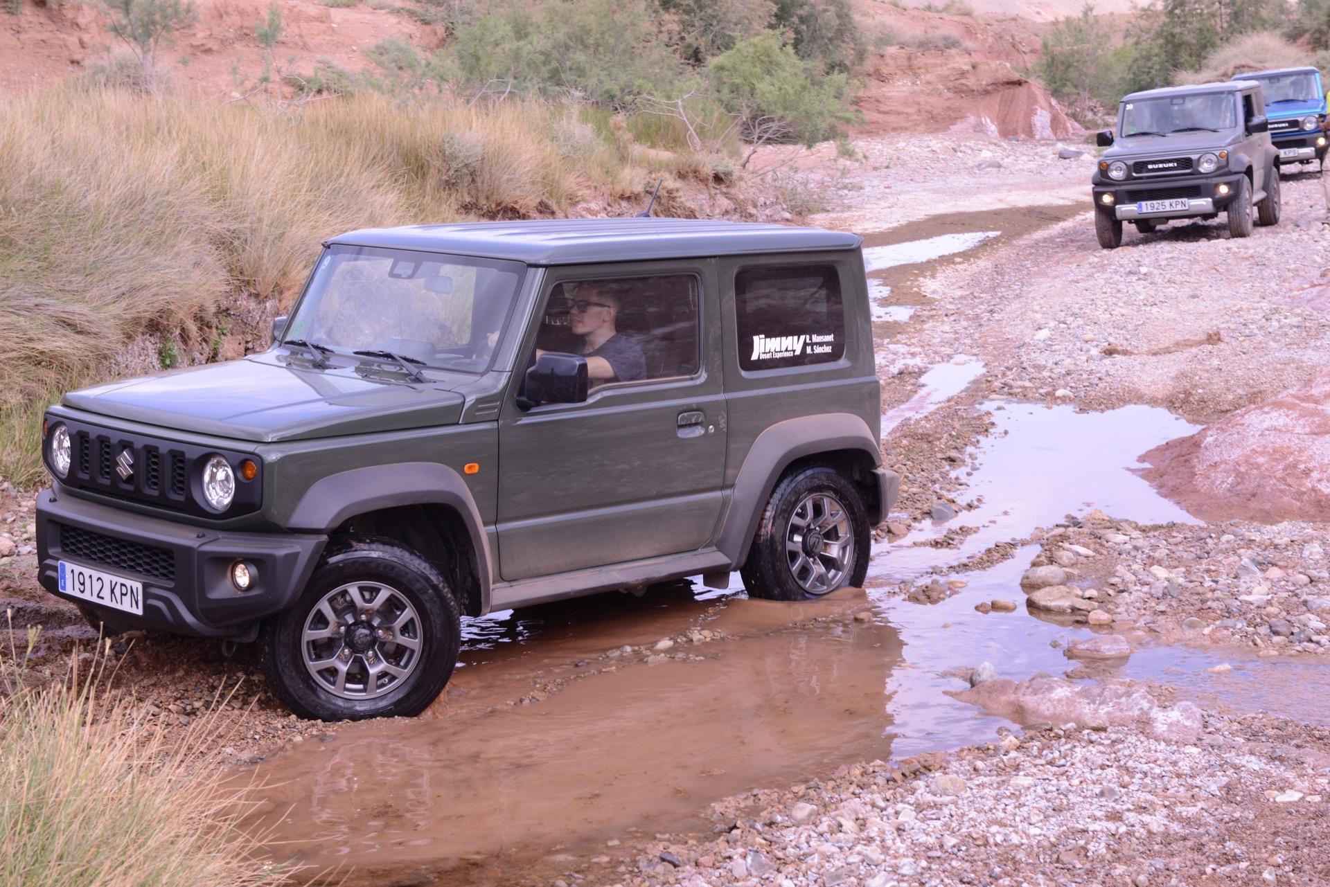 Suzuki Jimny Desert Experience 2019 00051