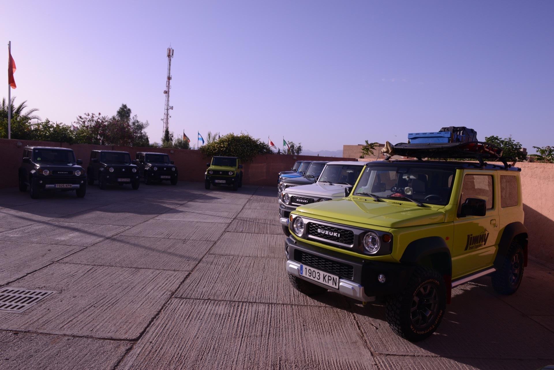 Suzuki Jimny Desert Experience 2019 00059