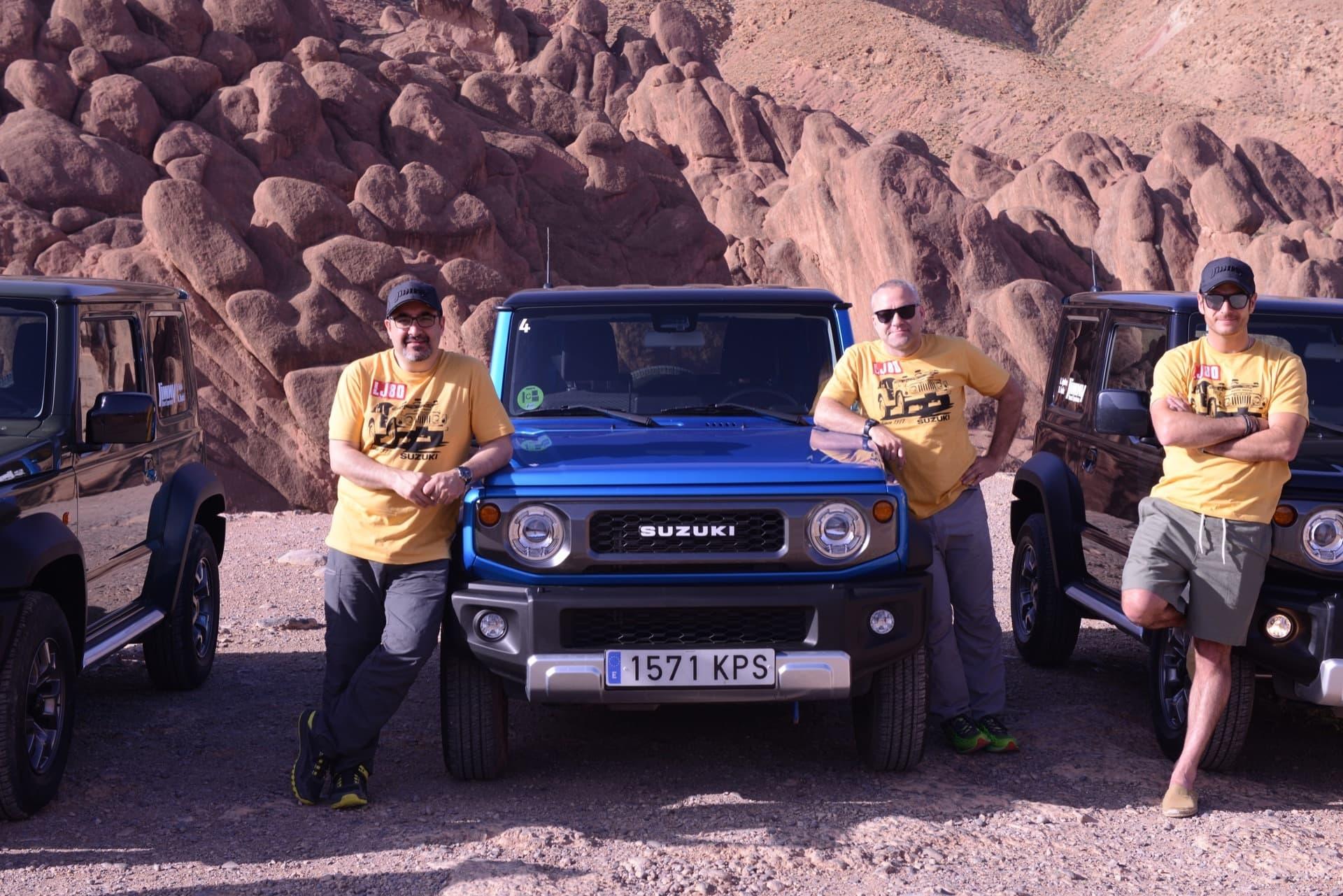 Suzuki Jimny Desert Experience 2019 00068