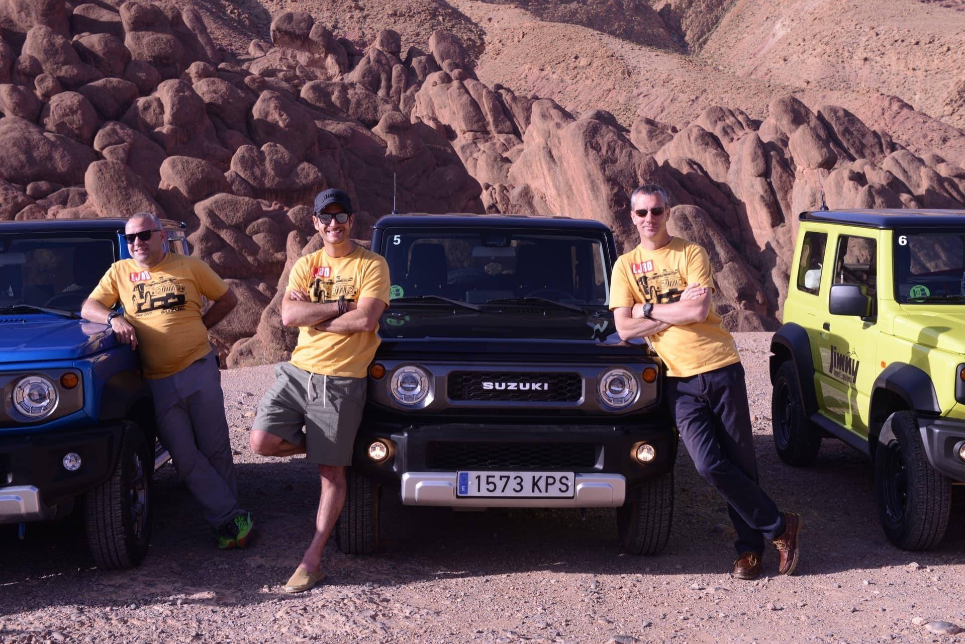 Suzuki Jimny Desert Experience 2019 00069