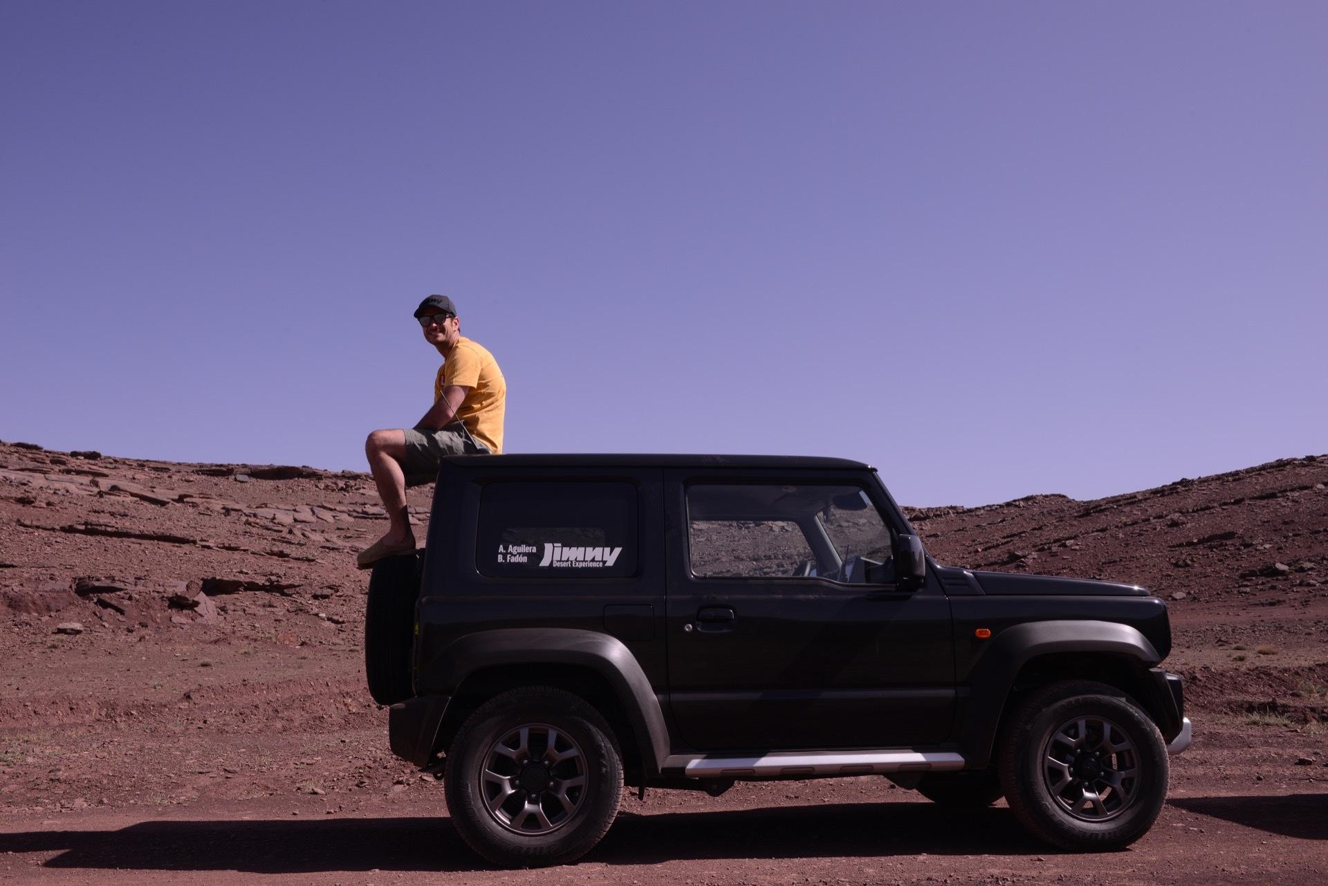 Suzuki Jimny Desert Experience 2019 00085