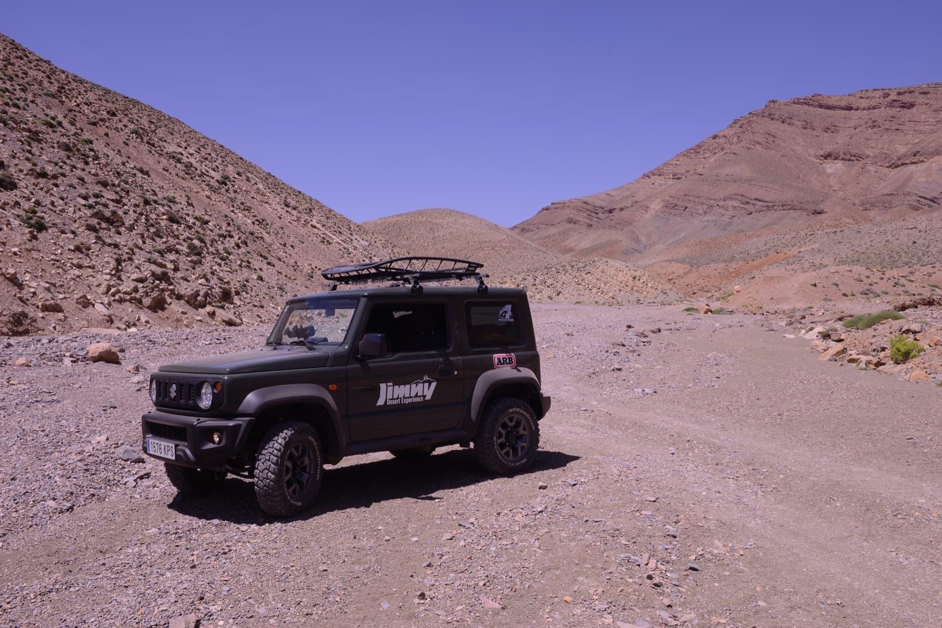 Suzuki Jimny Desert Experience 2019 00101