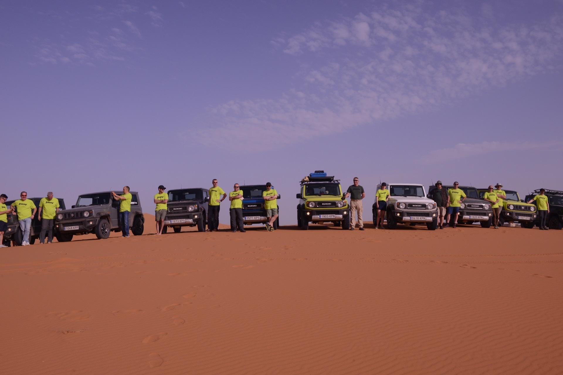 Suzuki Jimny Desert Experience 2019 00128