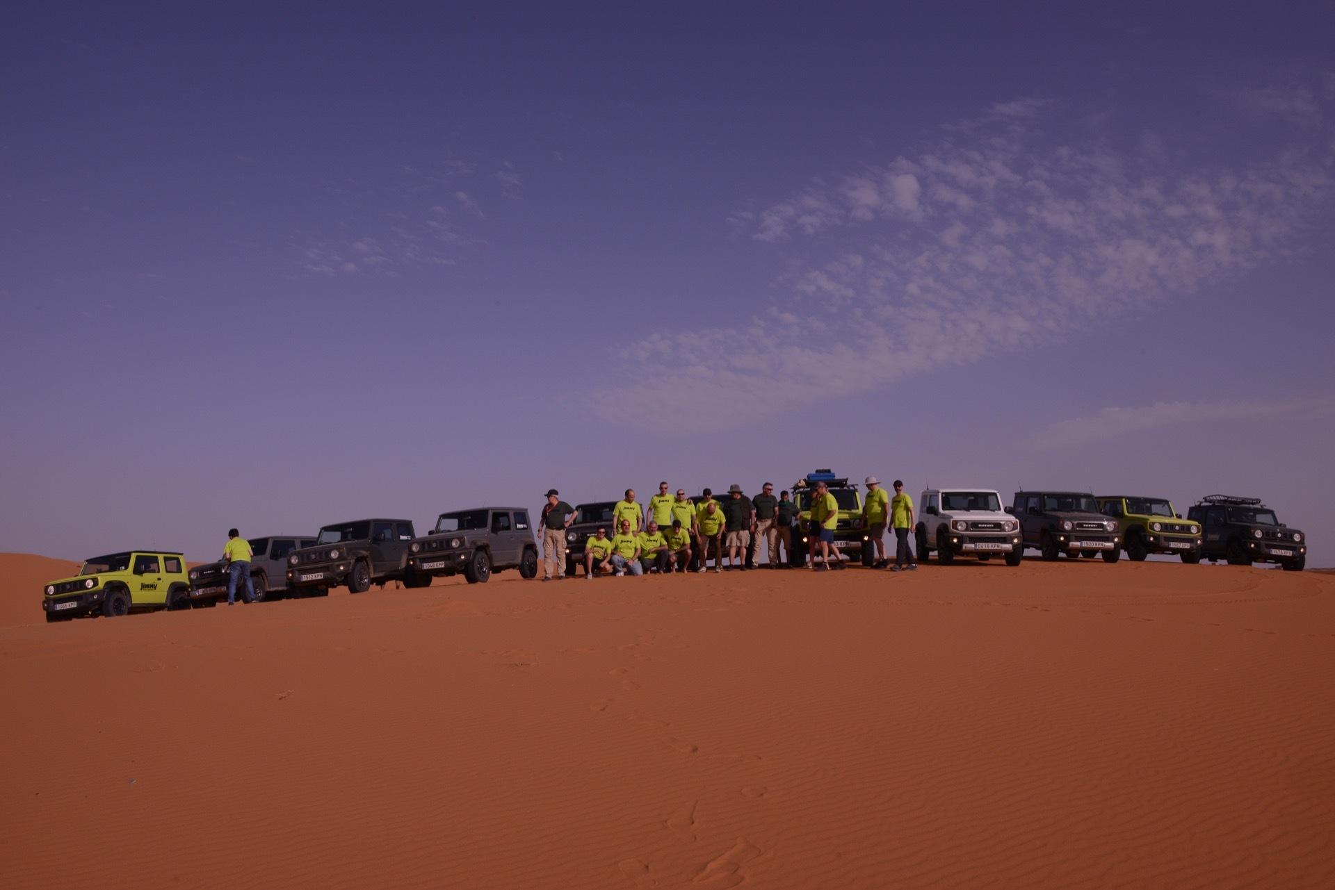Suzuki Jimny Desert Experience 2019 00130