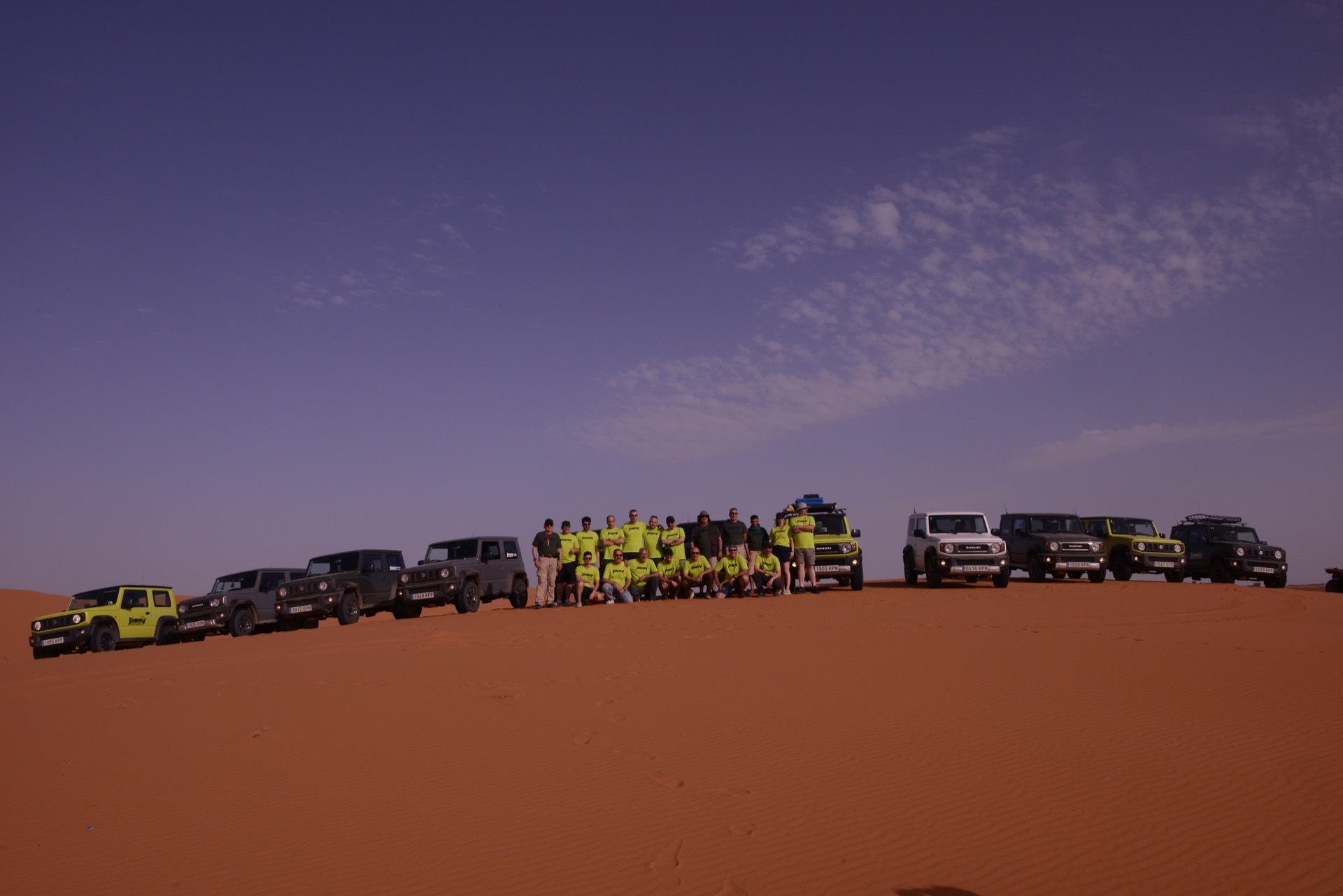 Suzuki Jimny Desert Experience 2019 00131
