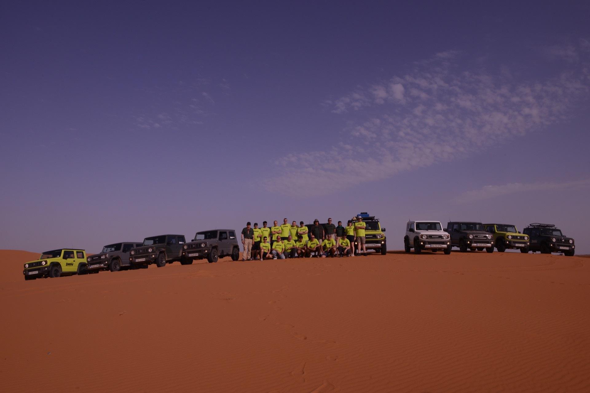 Suzuki Jimny Desert Experience 2019 00132