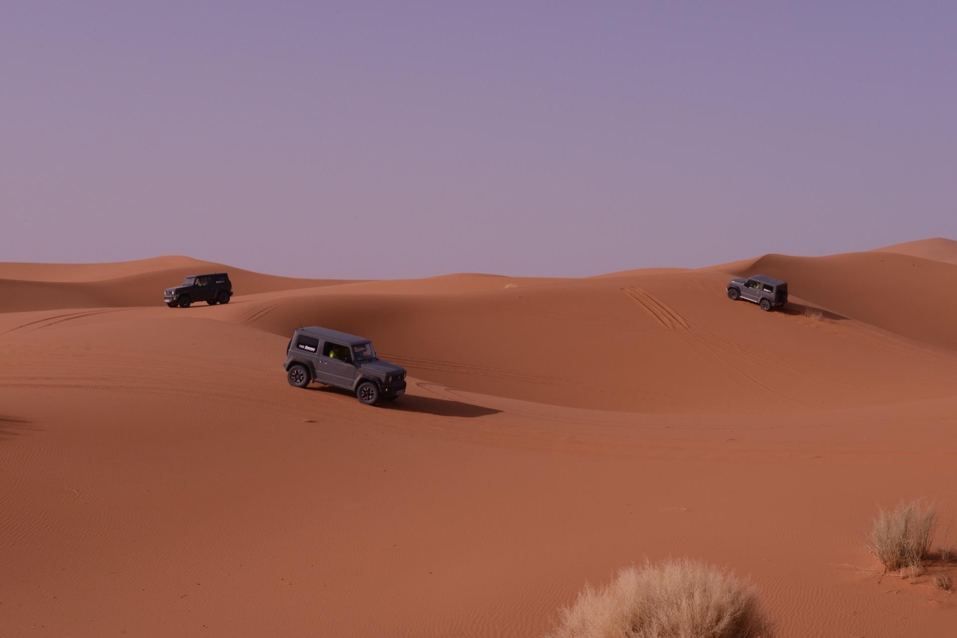 Suzuki Jimny Desert Experience 2019 00135