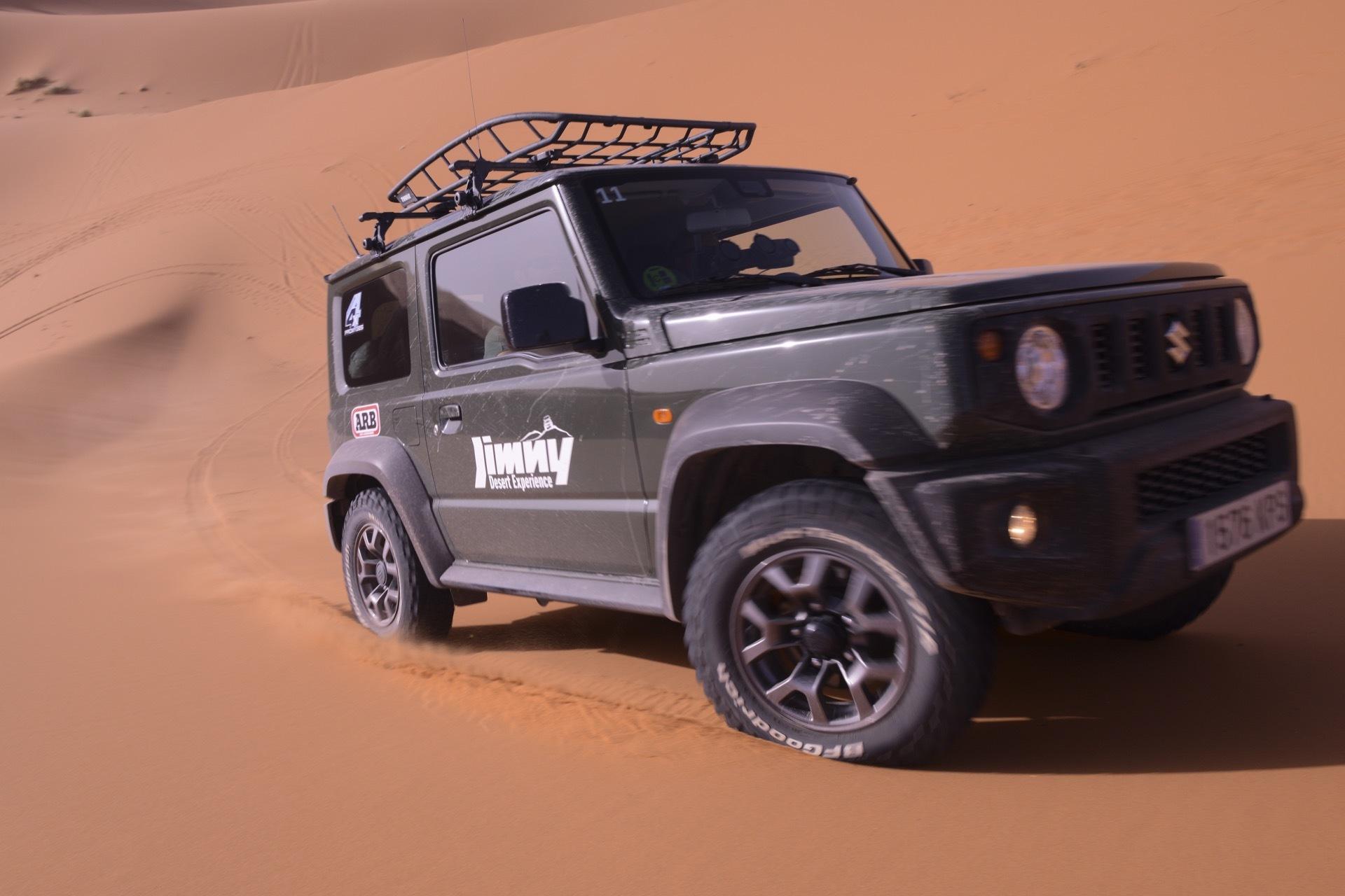Suzuki Jimny Desert Experience 2019 00164