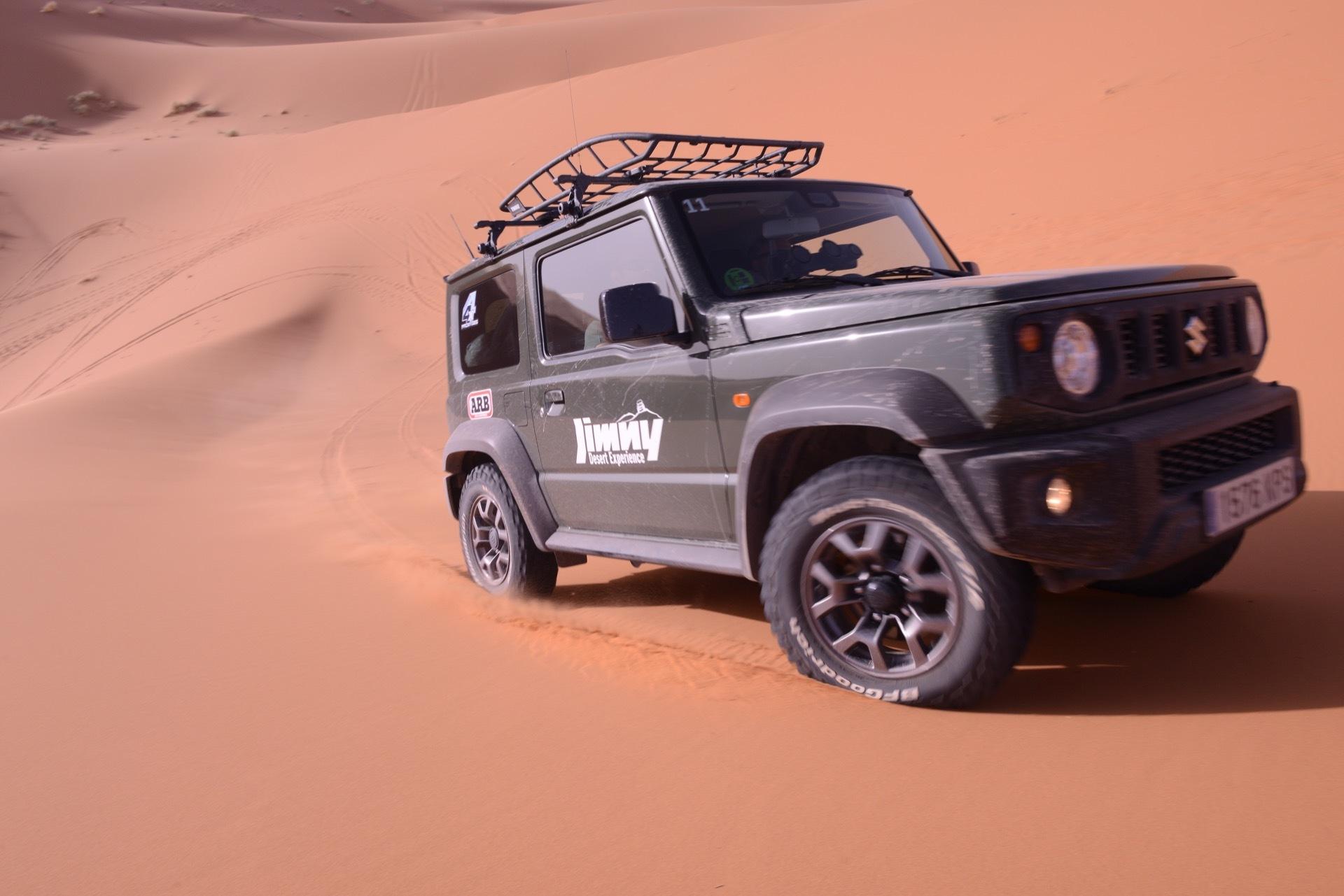 Suzuki Jimny Desert Experience 2019 00165