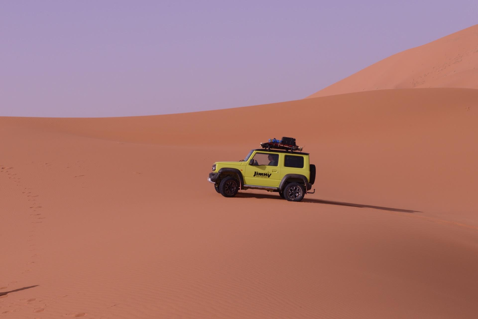 Suzuki Jimny Desert Experience 2019 00168