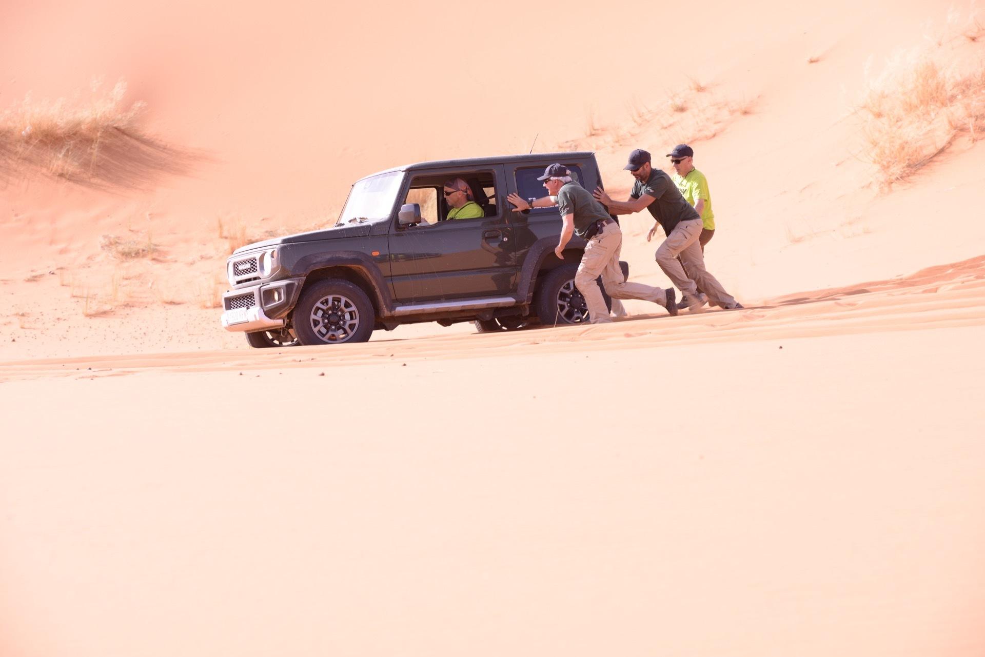 Suzuki Jimny Desert Experience 2019 00171