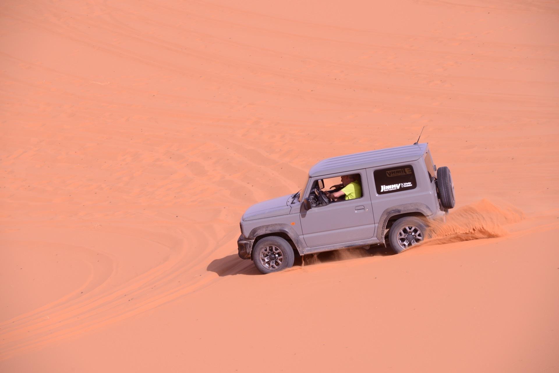 Suzuki Jimny Desert Experience 2019 00175