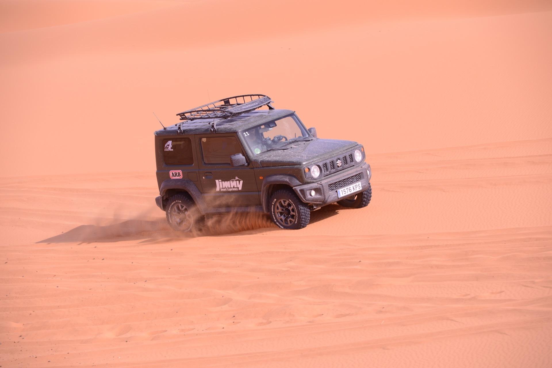 Suzuki Jimny Desert Experience 2019 00177