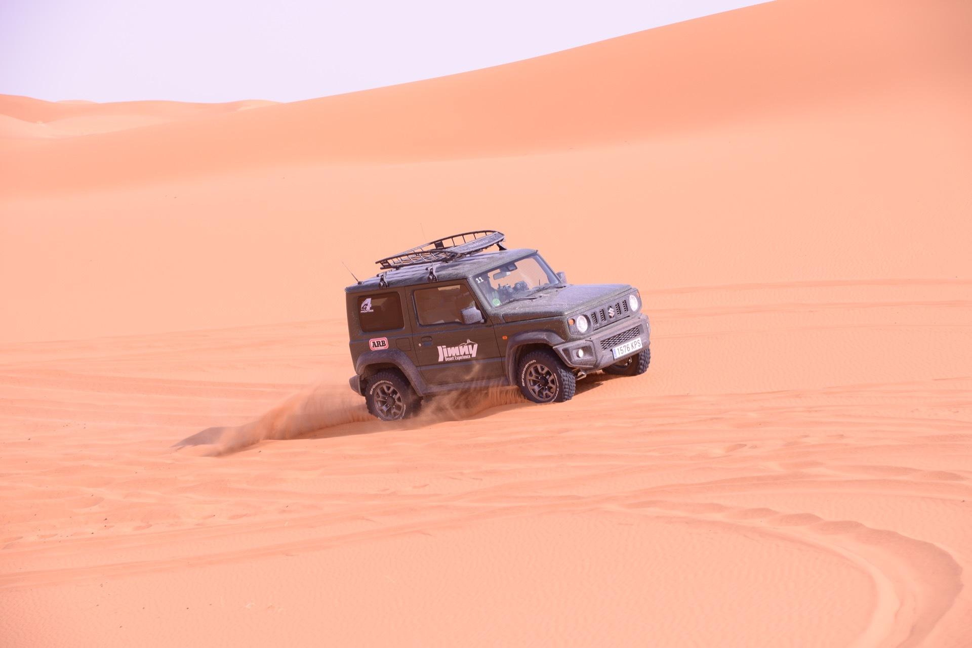 Suzuki Jimny Desert Experience 2019 00178