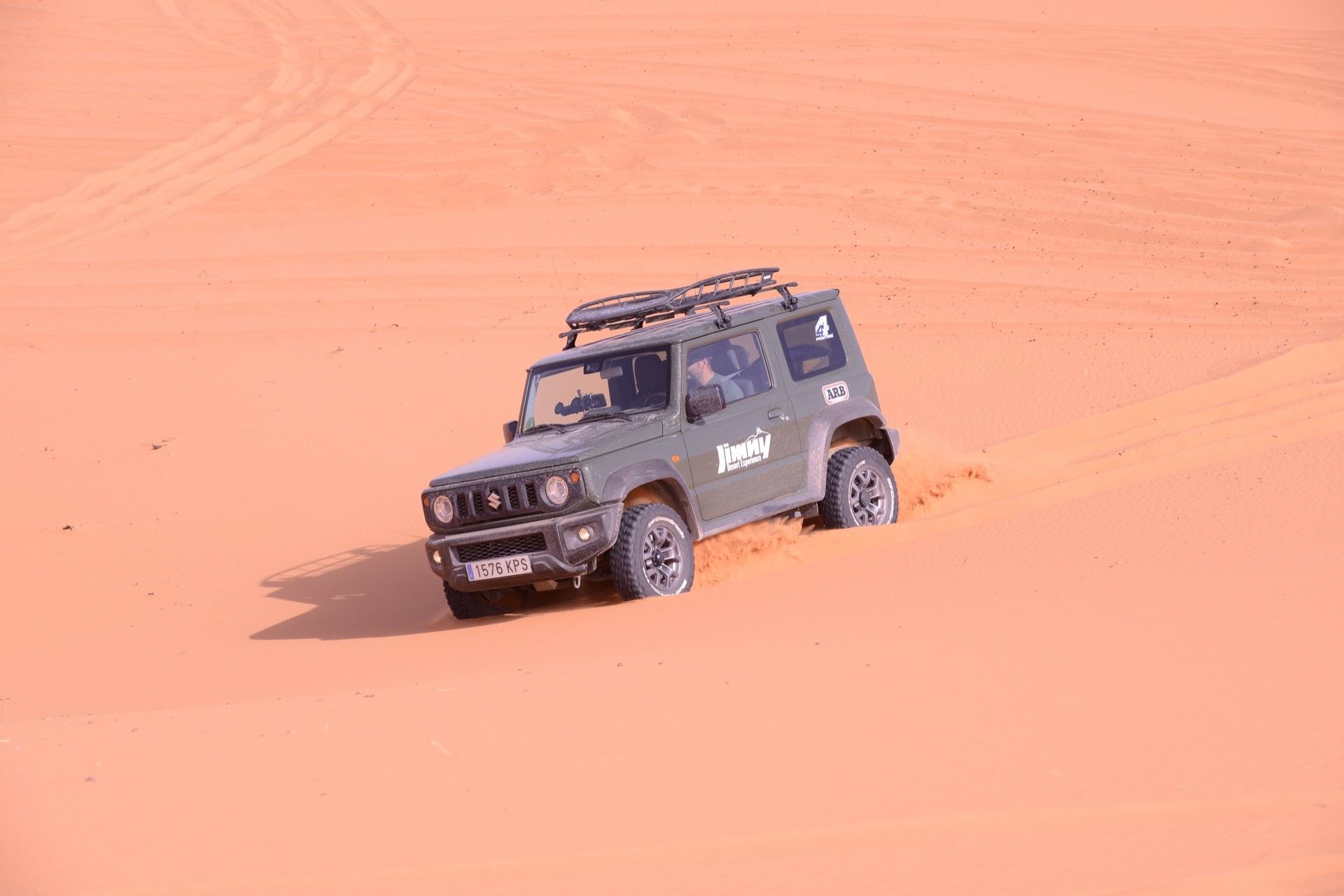 Suzuki Jimny Desert Experience 2019 00179