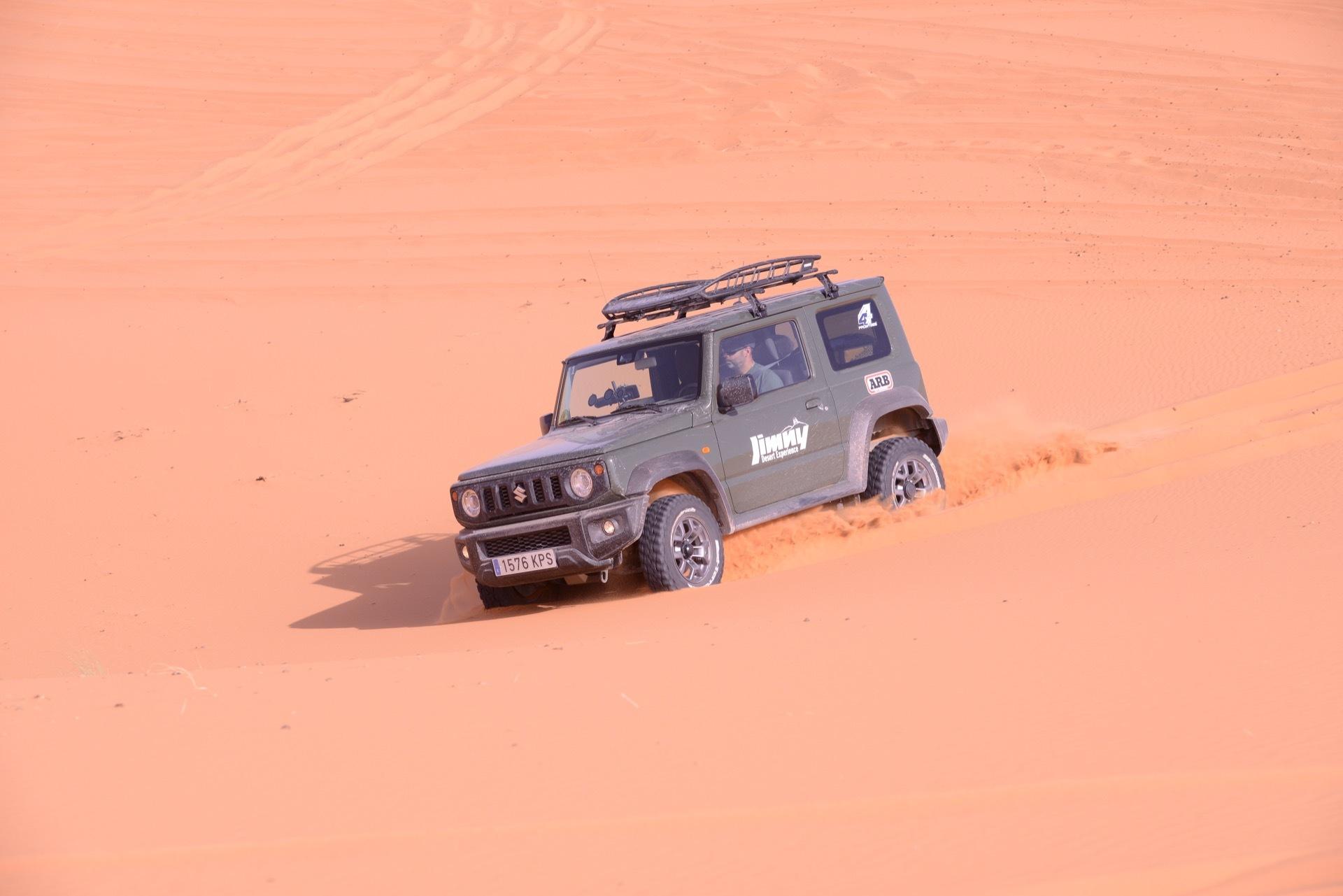 Suzuki Jimny Desert Experience 2019 00180