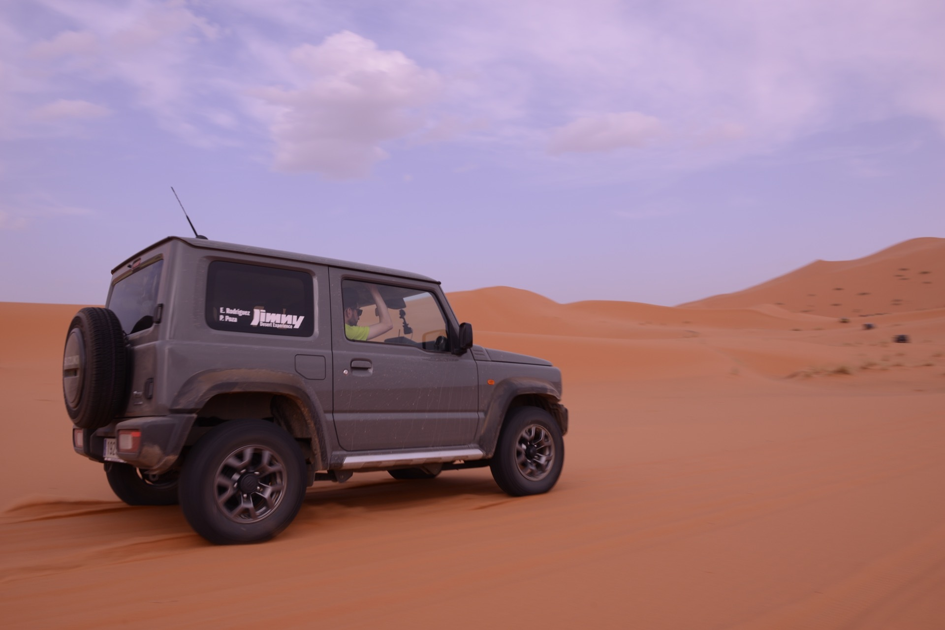 Suzuki Jimny Desert Experience 2019 00218