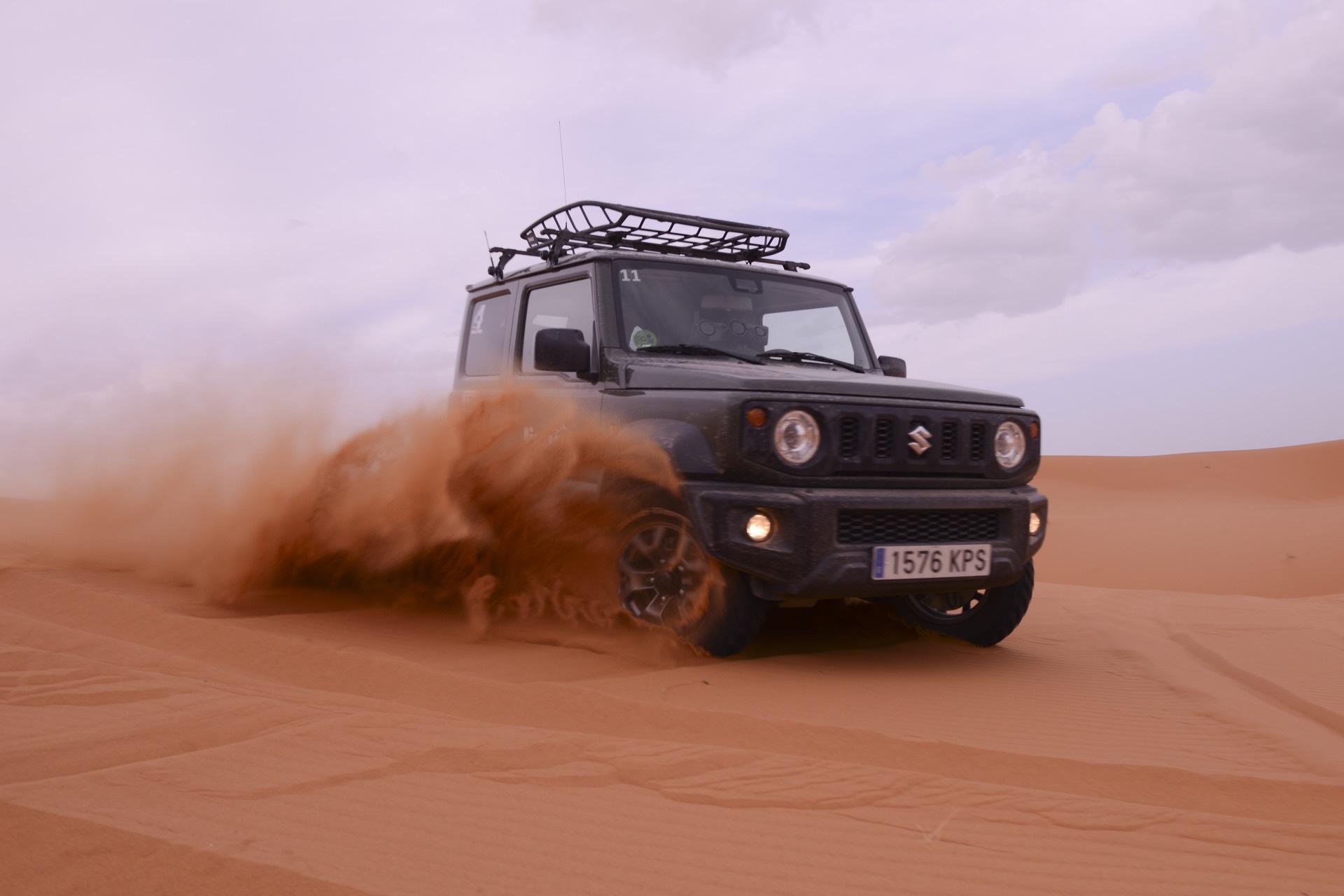 Suzuki Jimny Desert Experience 2019 00228