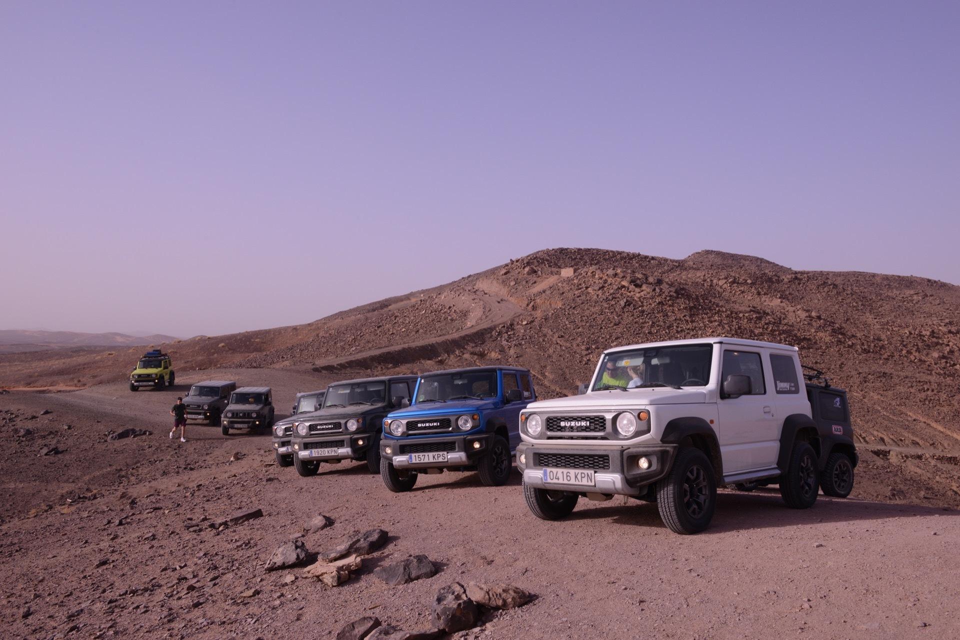 Suzuki Jimny Desert Experience 2019 00256