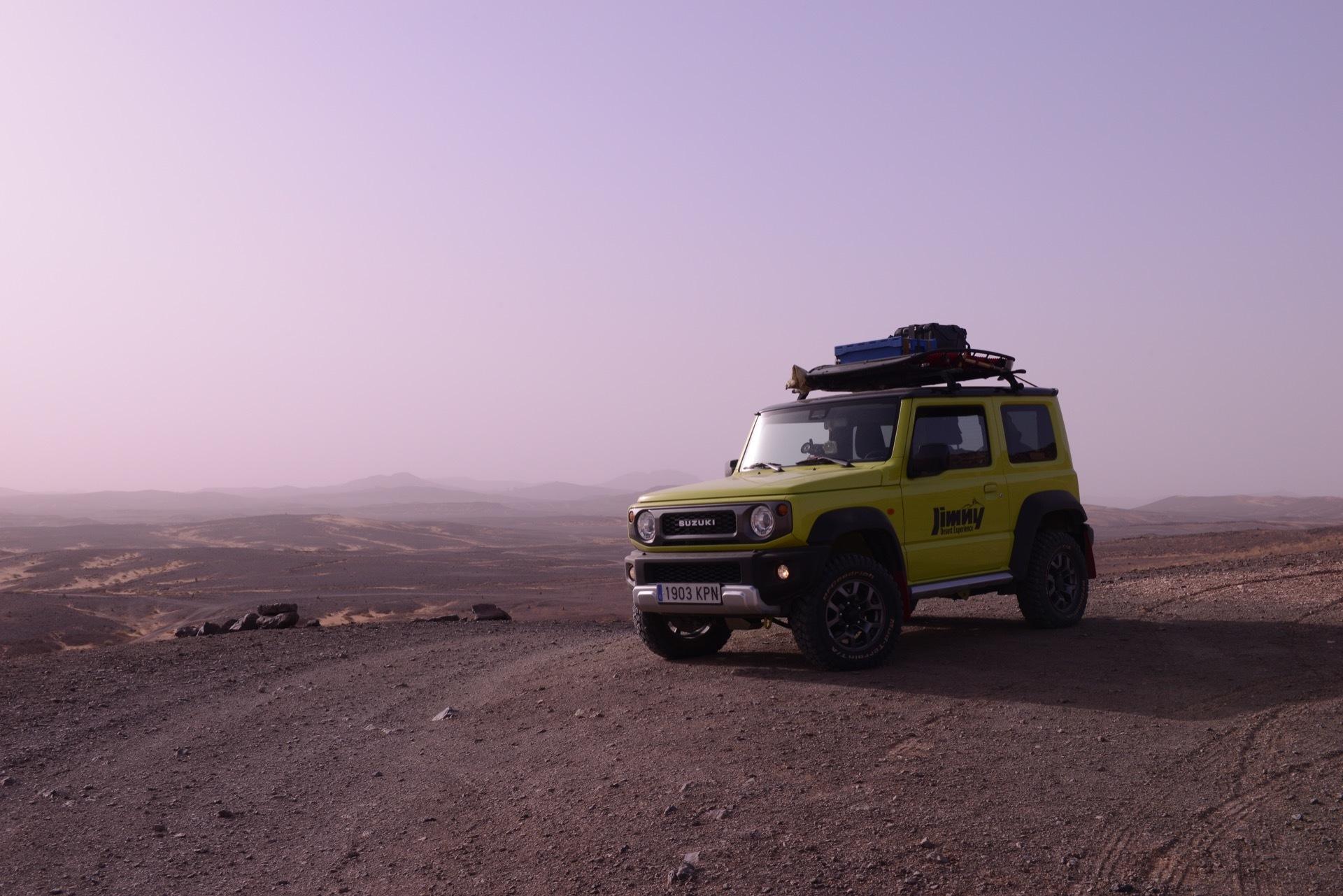Suzuki Jimny Desert Experience 2019 00259