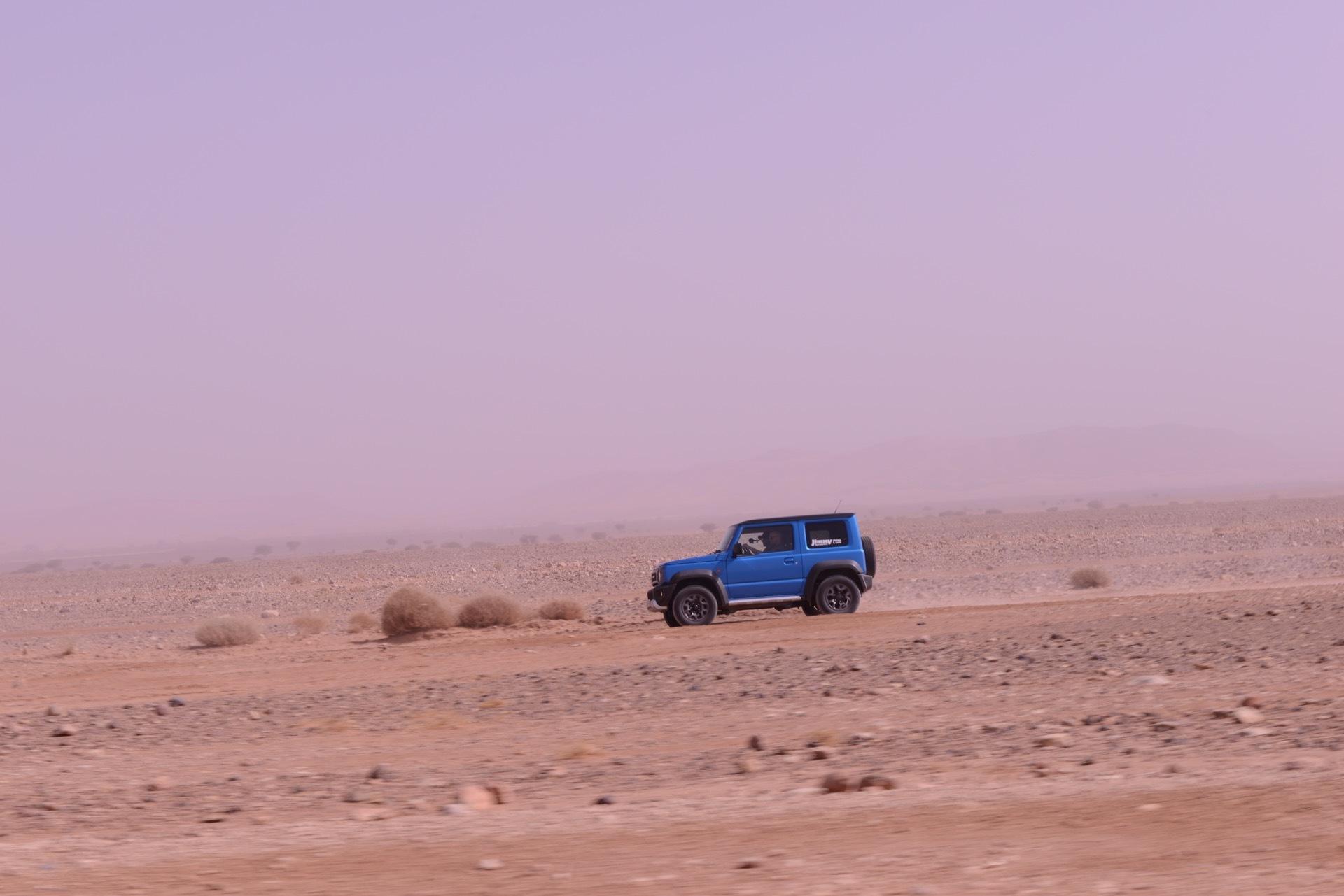 Suzuki Jimny Desert Experience 2019 00267