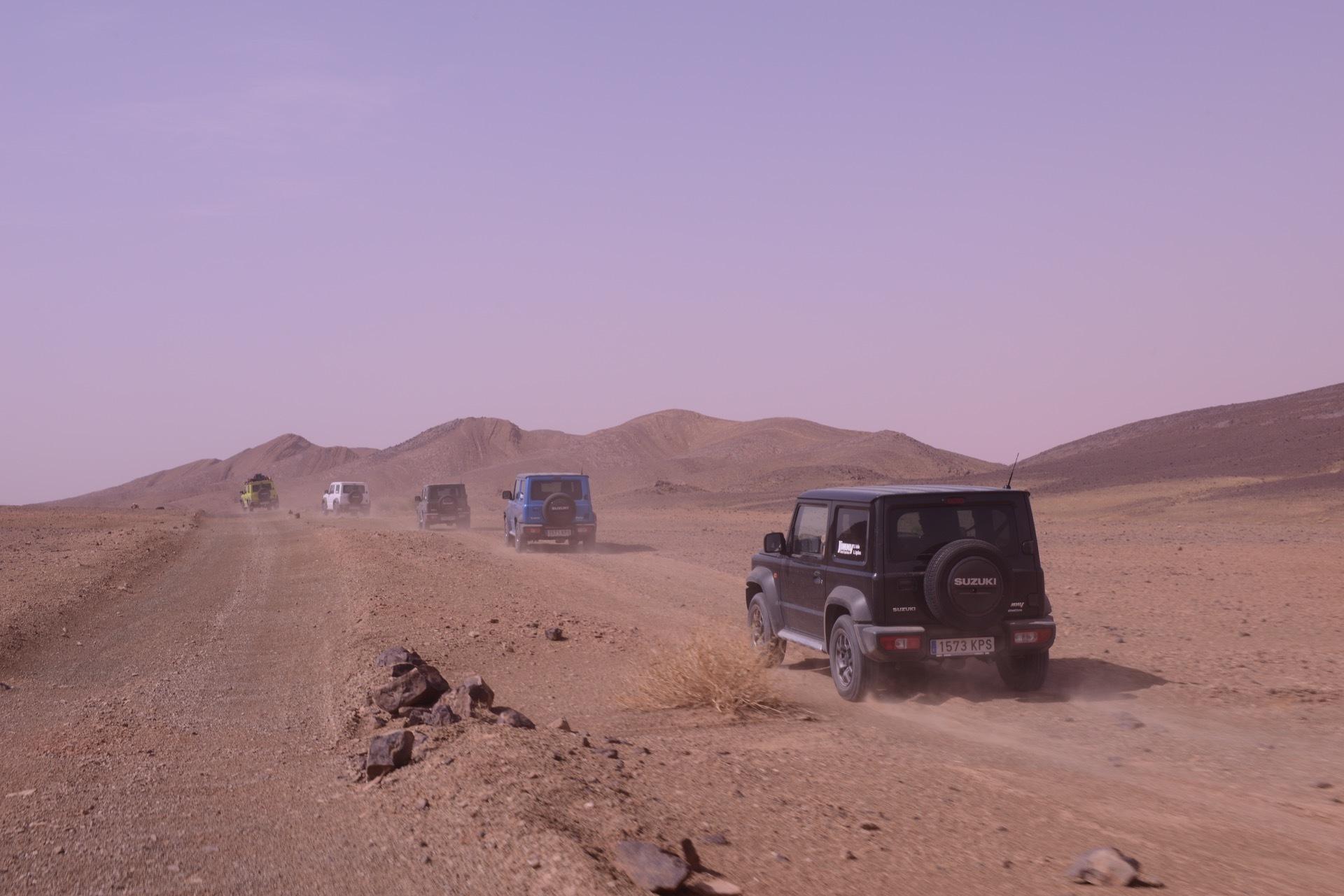 Suzuki Jimny Desert Experience 2019 00270
