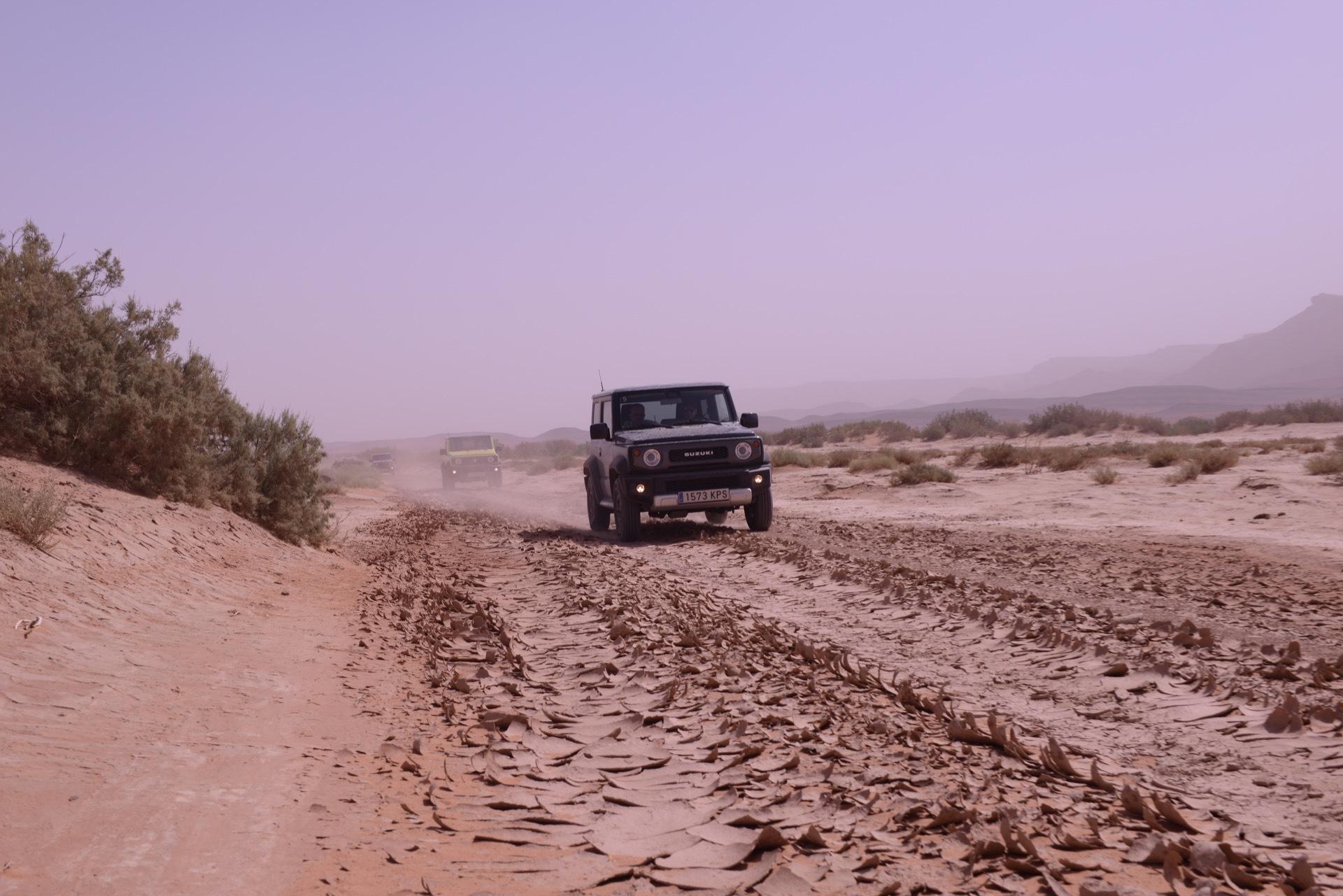 Suzuki Jimny Desert Experience 2019 00271