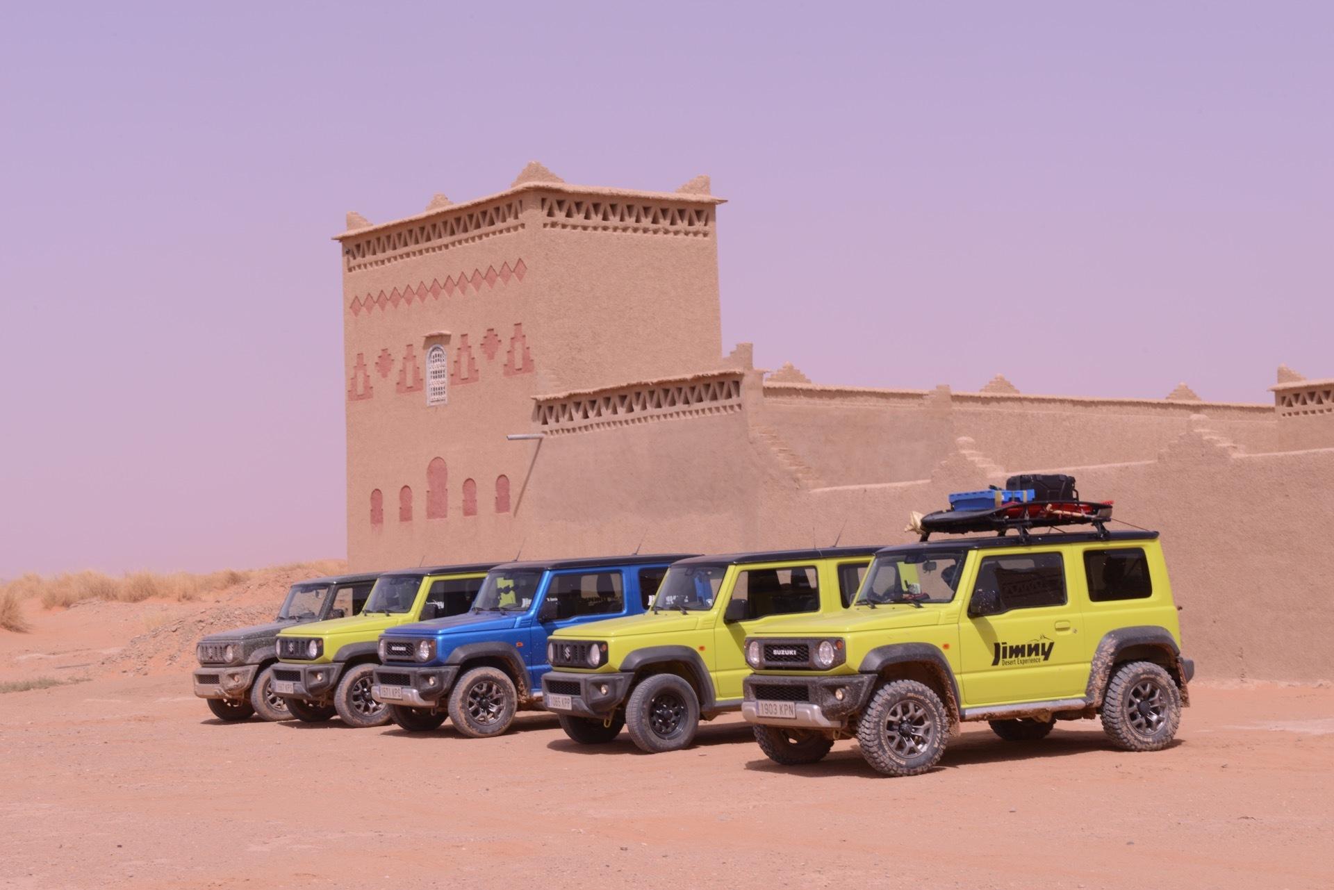 Suzuki Jimny Desert Experience 2019 00275