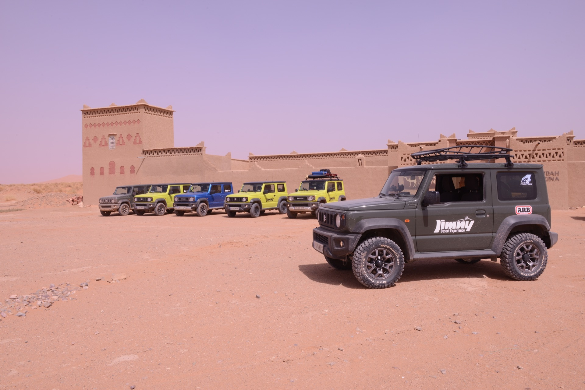 Suzuki Jimny Desert Experience 2019 00276