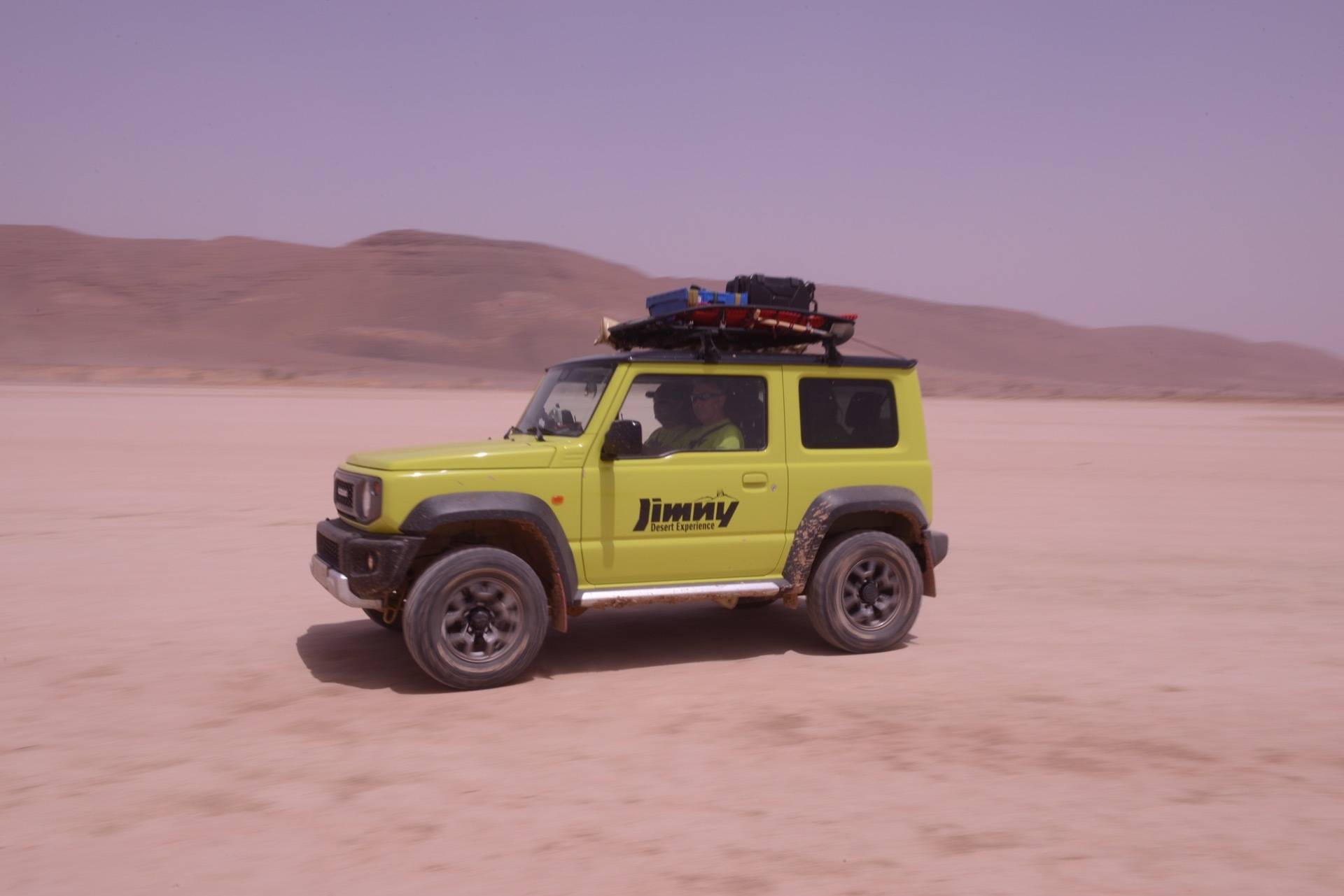 Suzuki Jimny Desert Experience 2019 00278