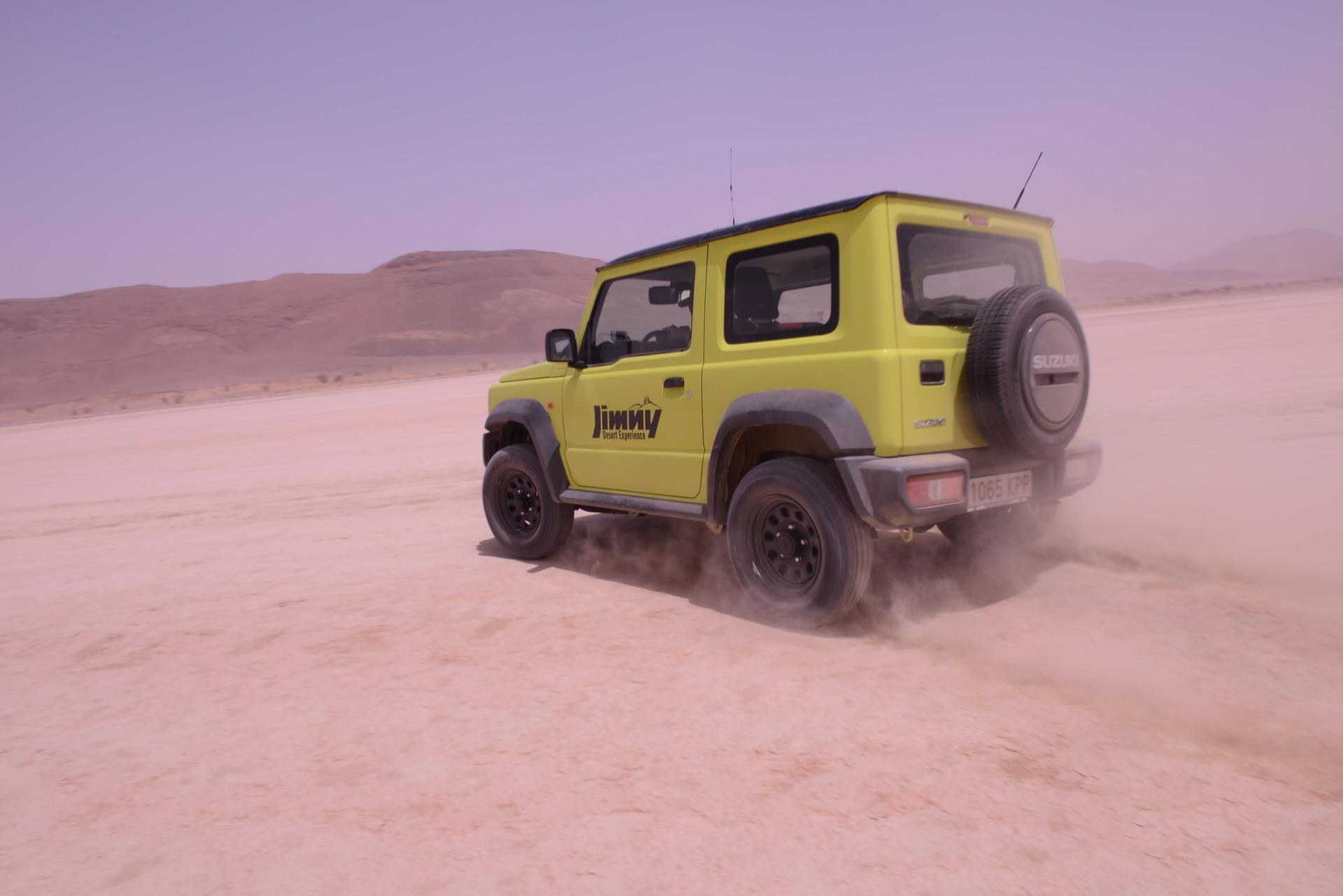 Suzuki Jimny Desert Experience 2019 00279
