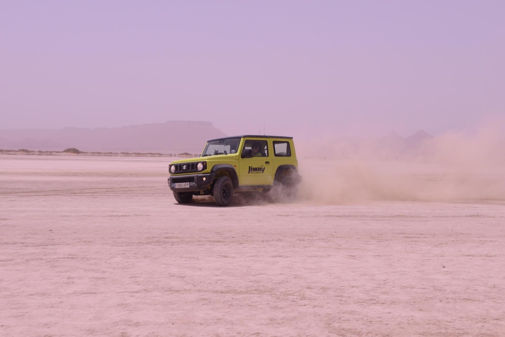Suzuki Jimny Desert Experience 2019 00280