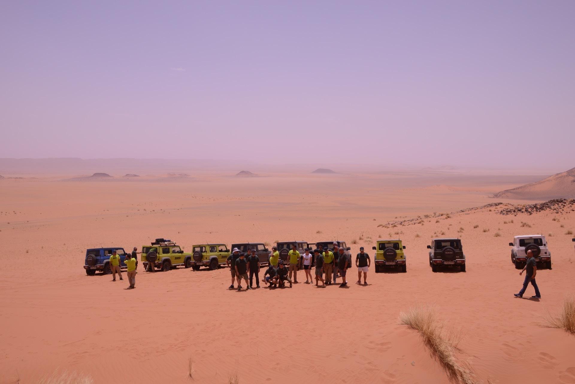 Suzuki Jimny Desert Experience 2019 00284