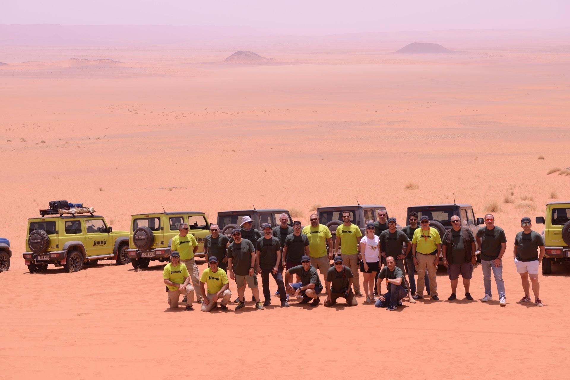 Suzuki Jimny Desert Experience 2019 00286