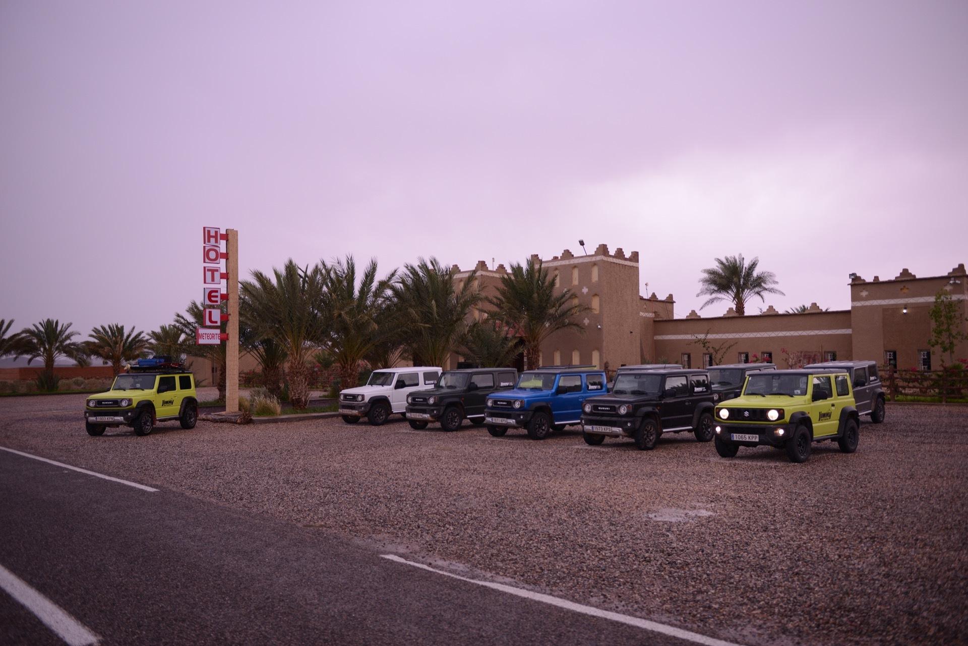 Suzuki Jimny Desert Experience 2019 00290