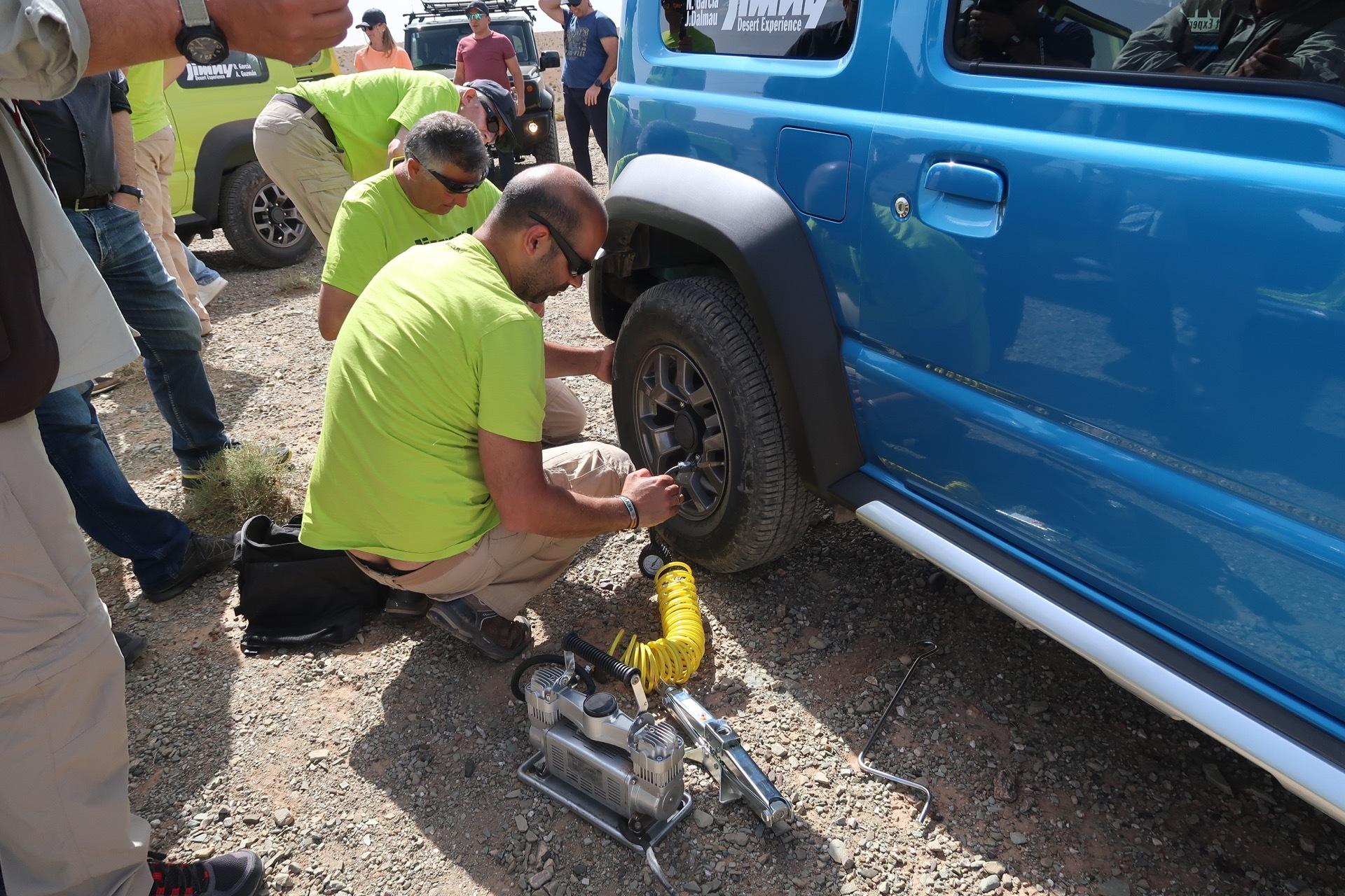 Suzuki Jimny Desert Experience 2019 00311