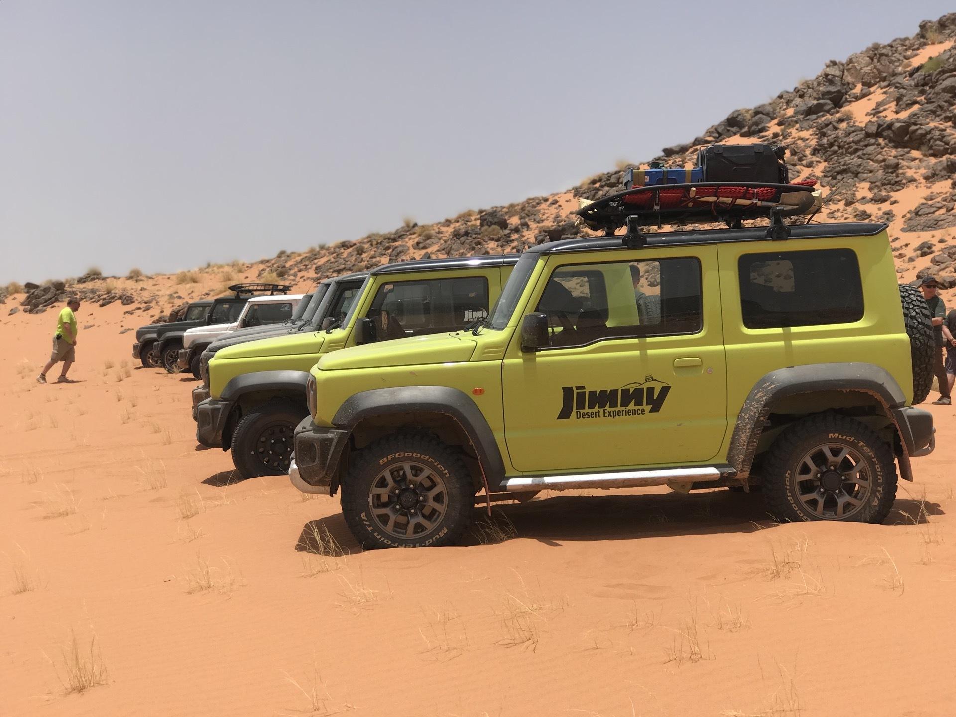 Suzuki Jimny Desert Experience 2019 00314
