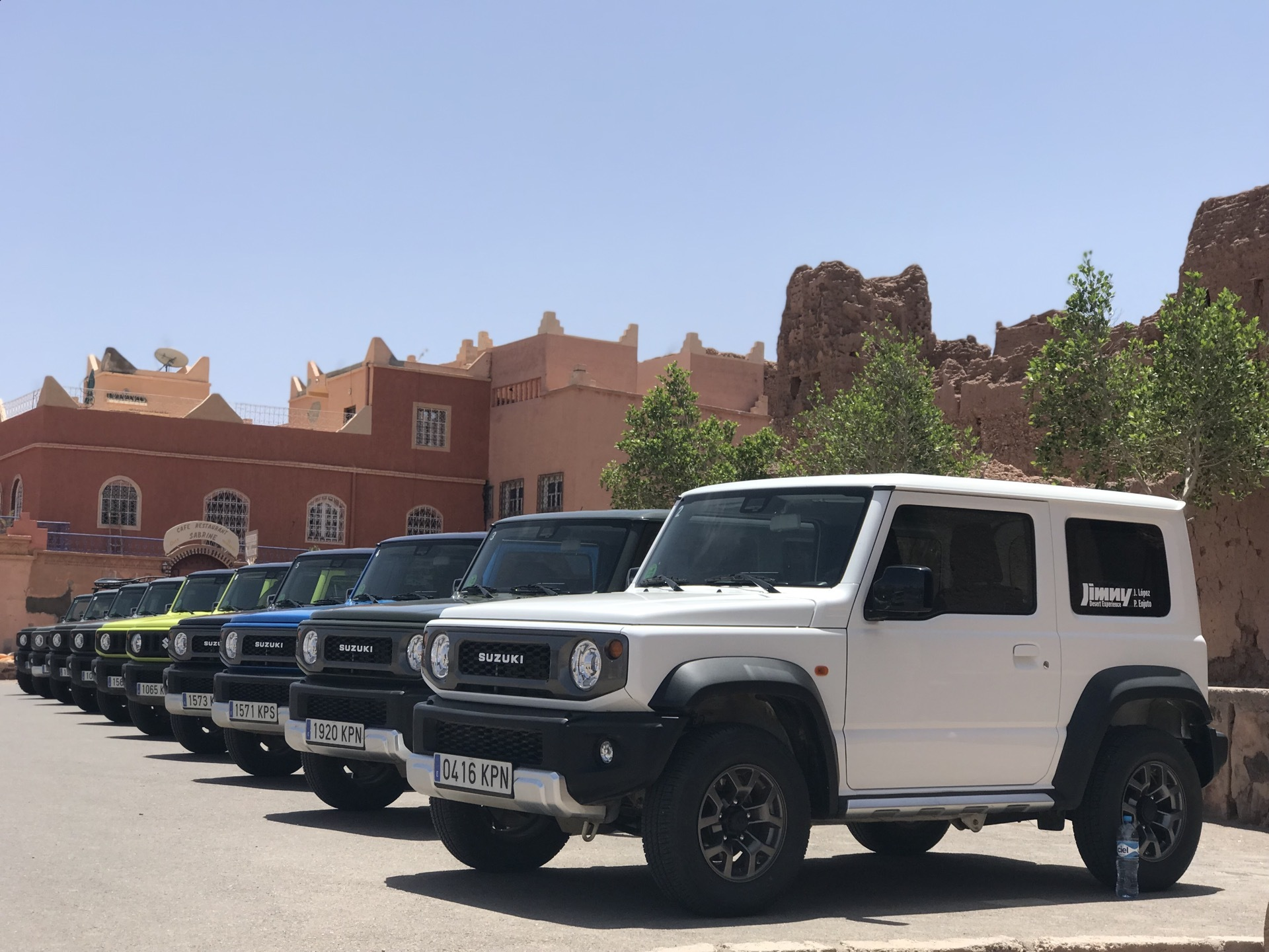 Suzuki Jimny Desert Experience 2019 00317