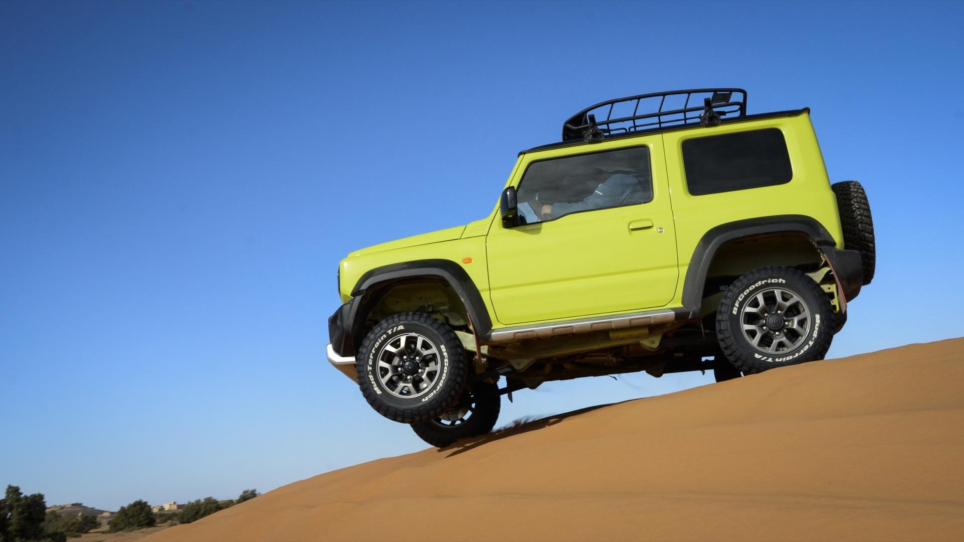 Suzuki Jimny Desert Experience 2019 00325