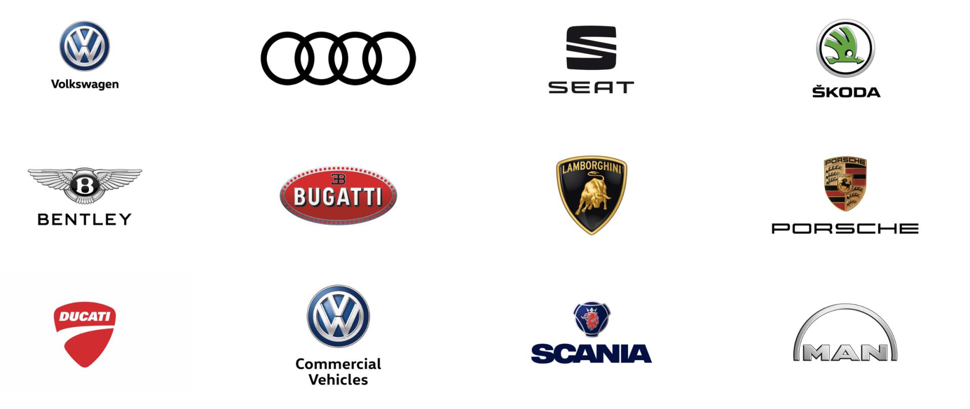 Marcas Grupo Volkswagen
