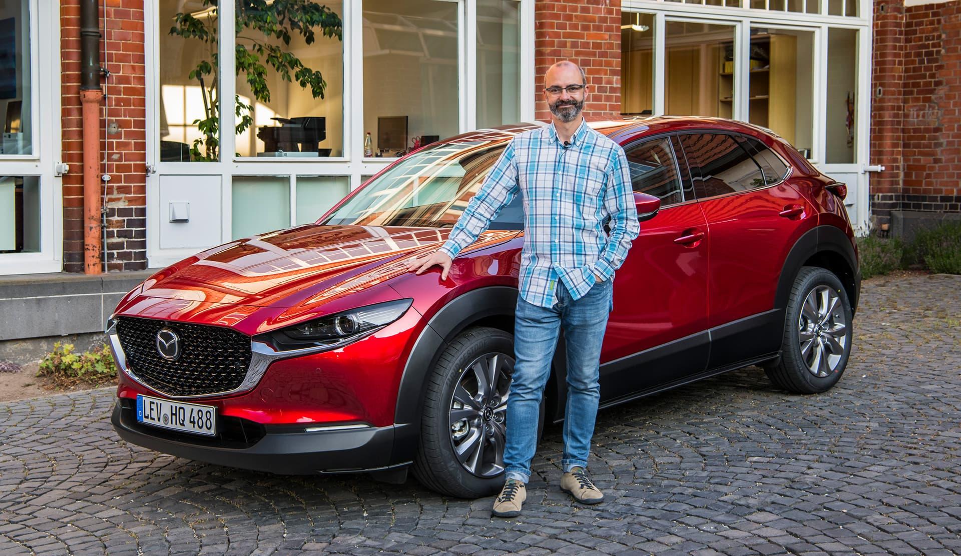 Mazda Cx 30 Portada