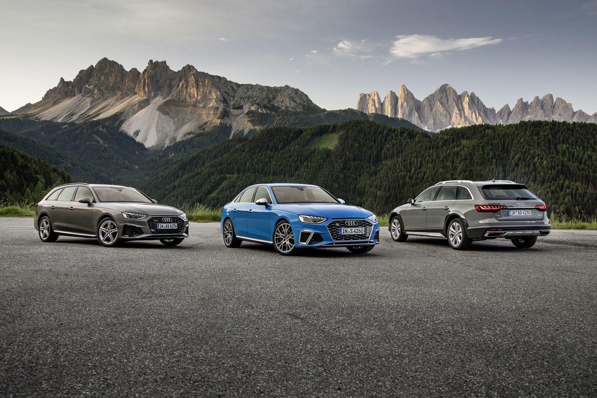 Prueba Audi A4 2019 1