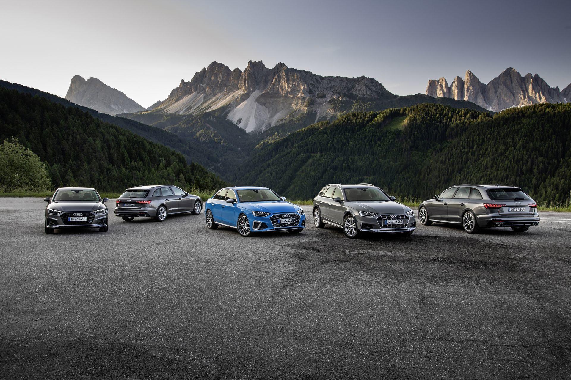 Prueba Audi A4 2019 2