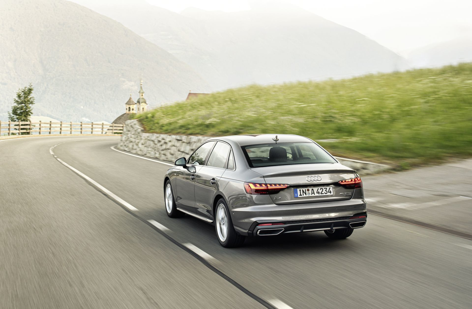 Prueba Audi A4 2019 25