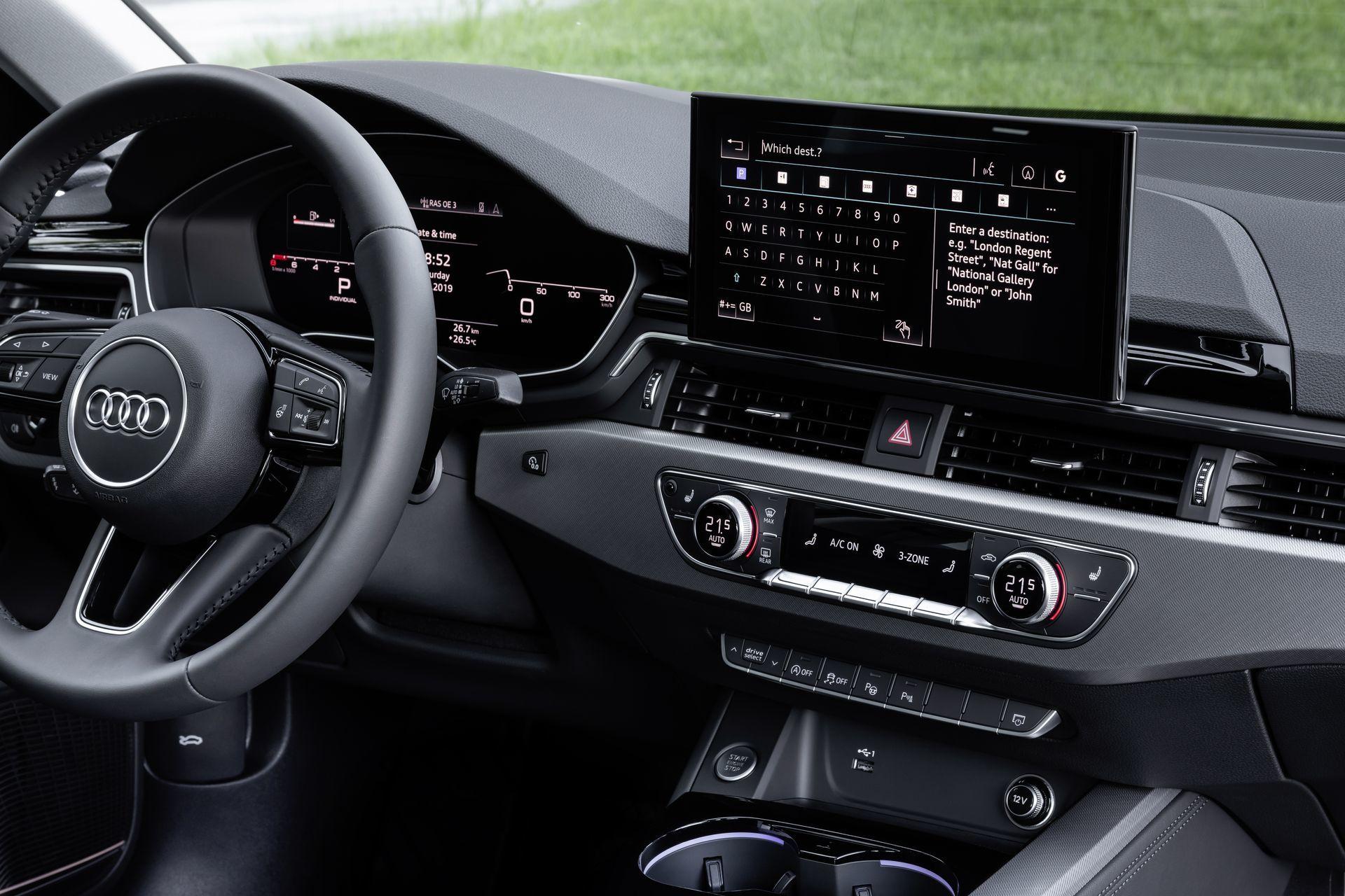 Prueba Audi A4 2019 44