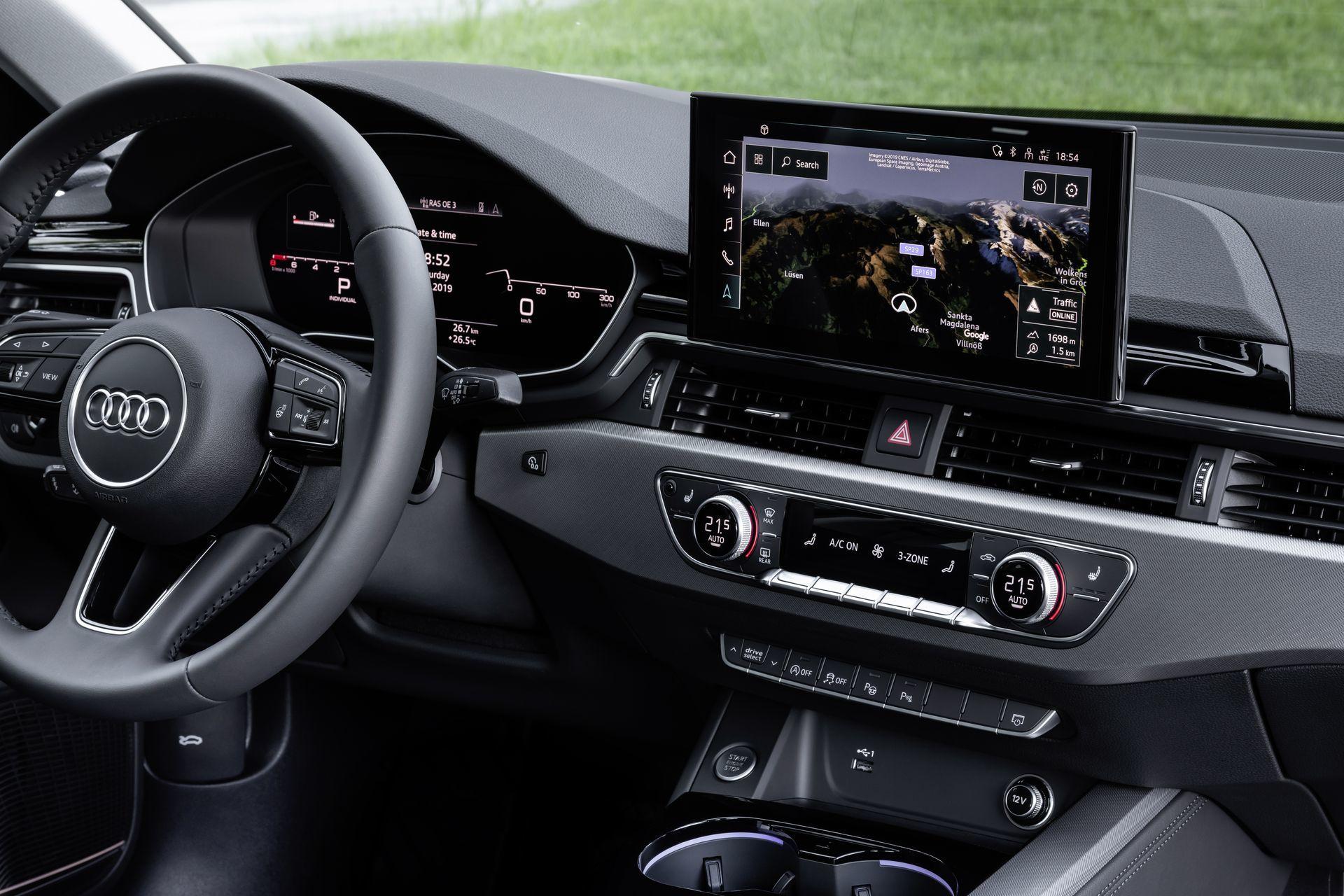Prueba Audi A4 2019 45