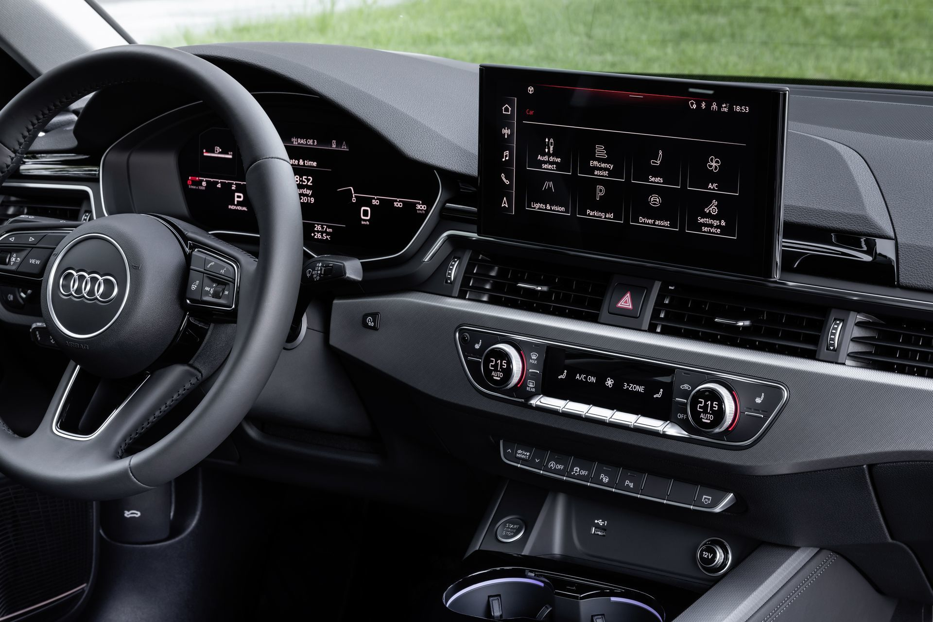 Prueba Audi A4 2019 48