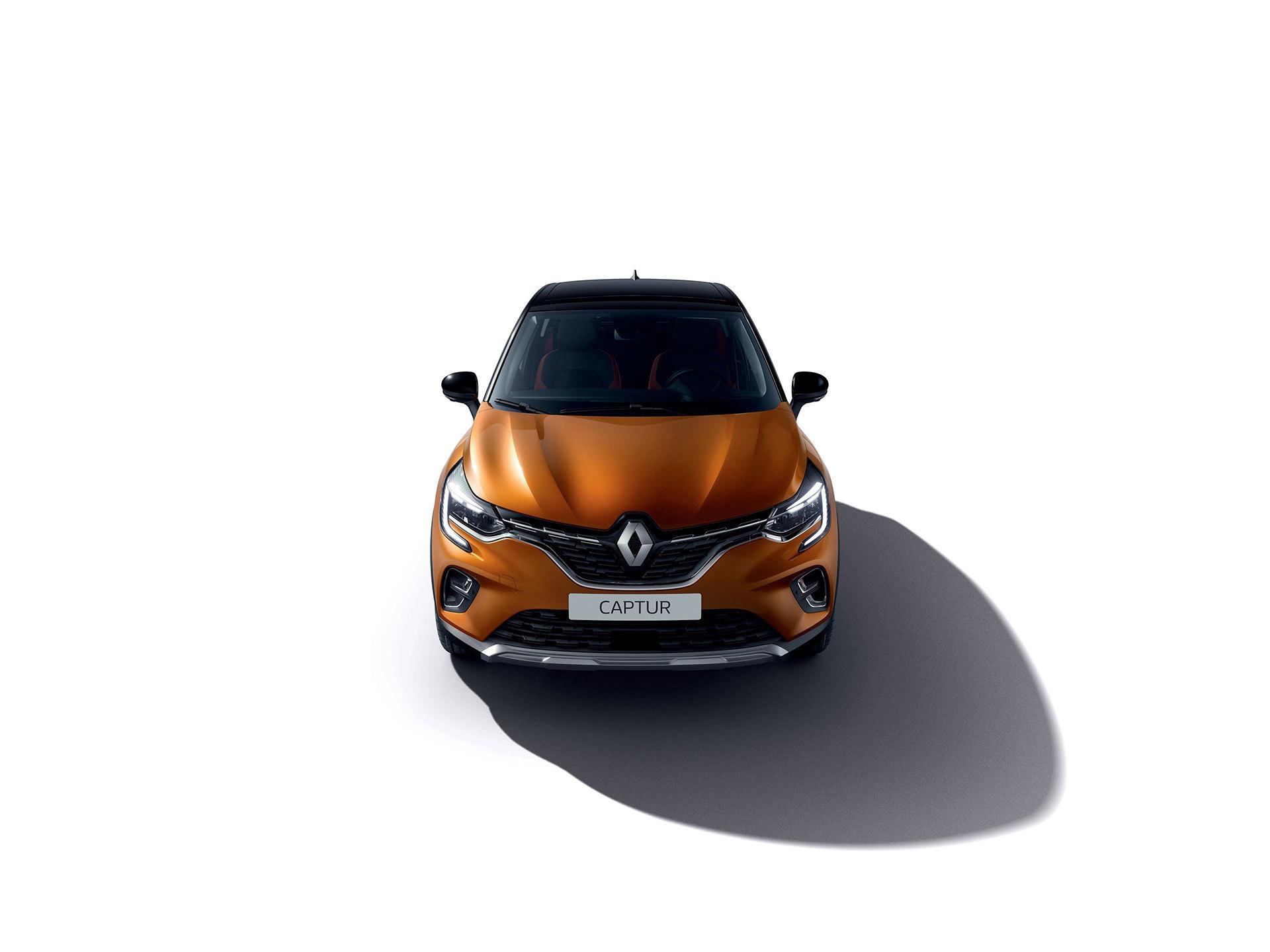 Renault Captur 2019 Naranja Atacama Exterior 01