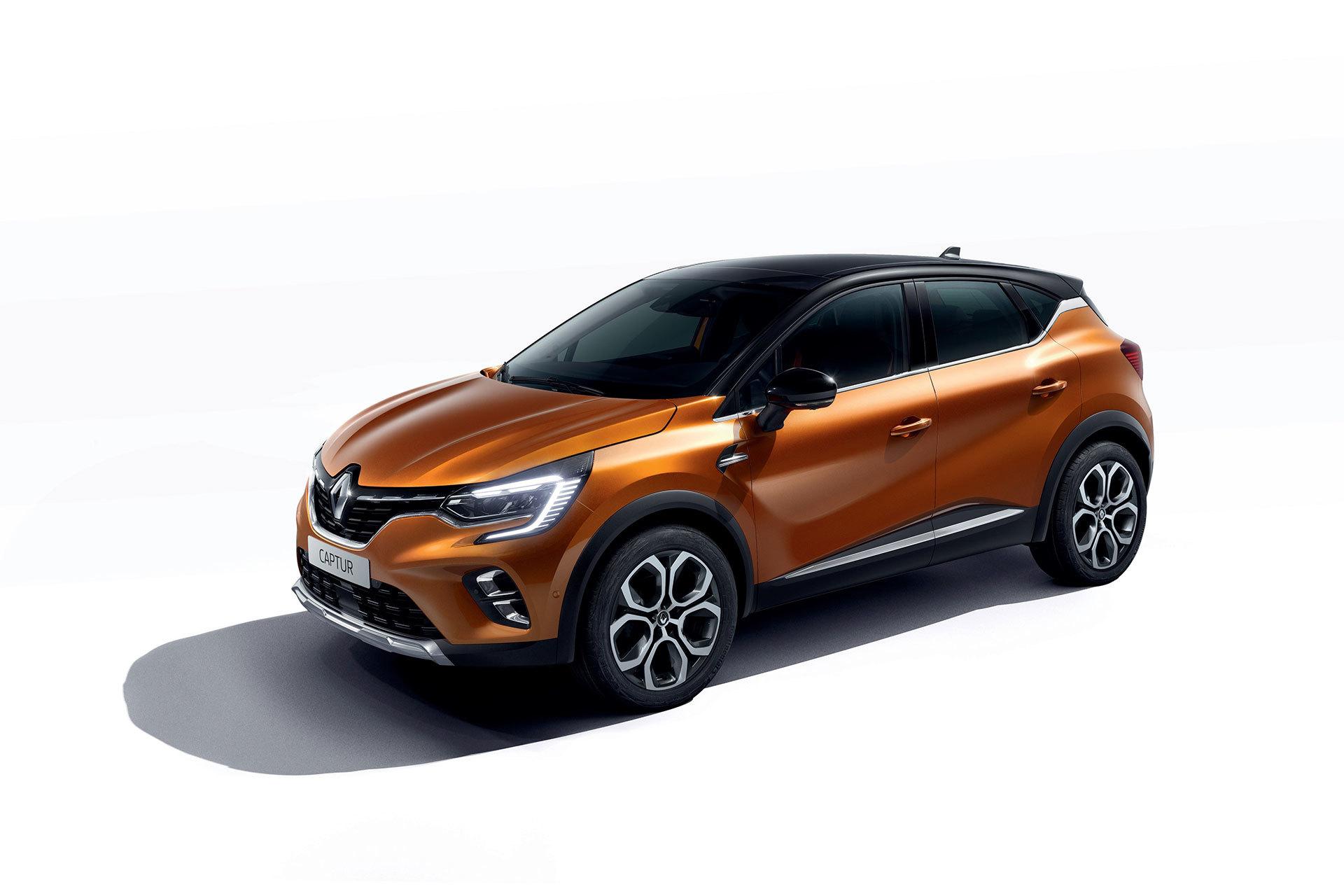 Renault Captur 2019 Naranja Atacama Exterior 04